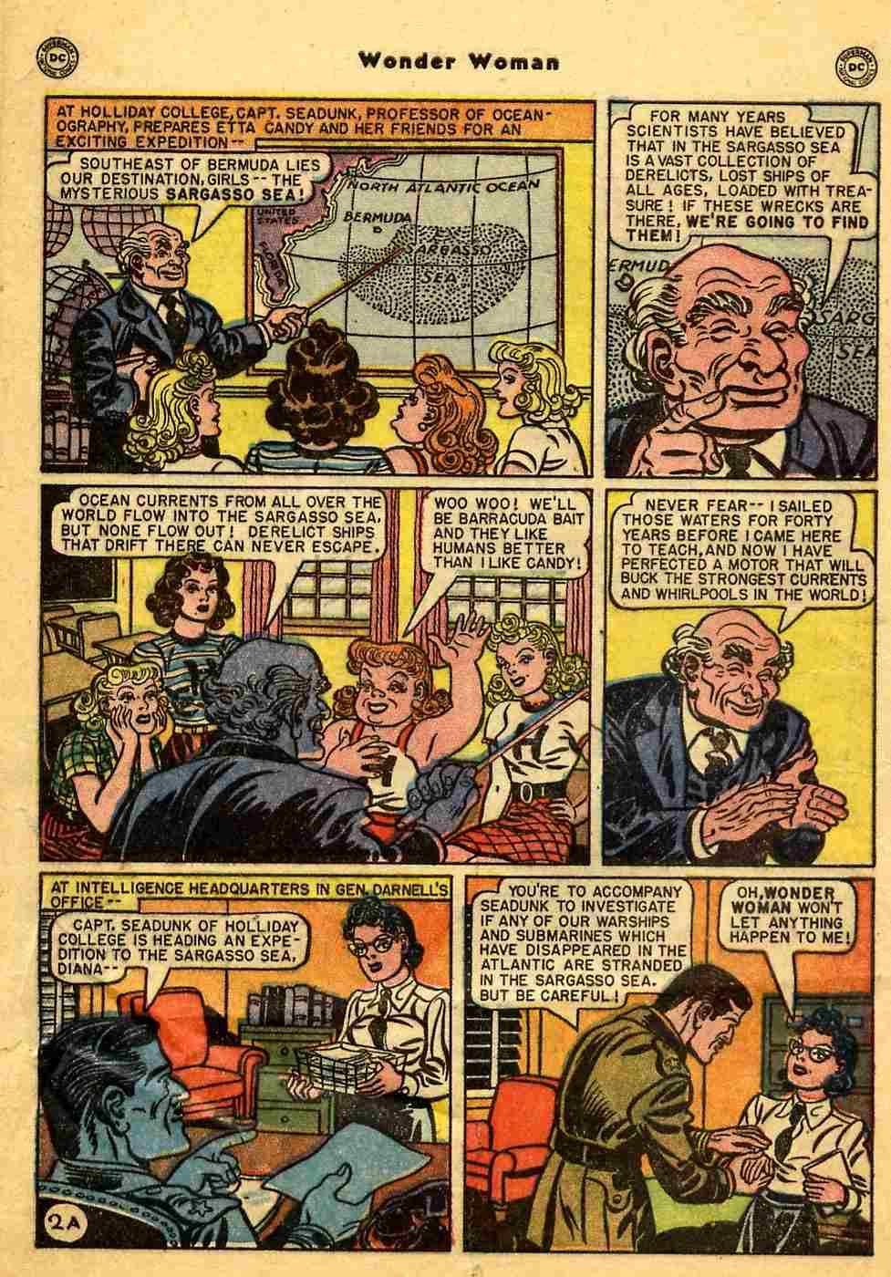 Read online Wonder Woman (1942) comic -  Issue #44 - 3