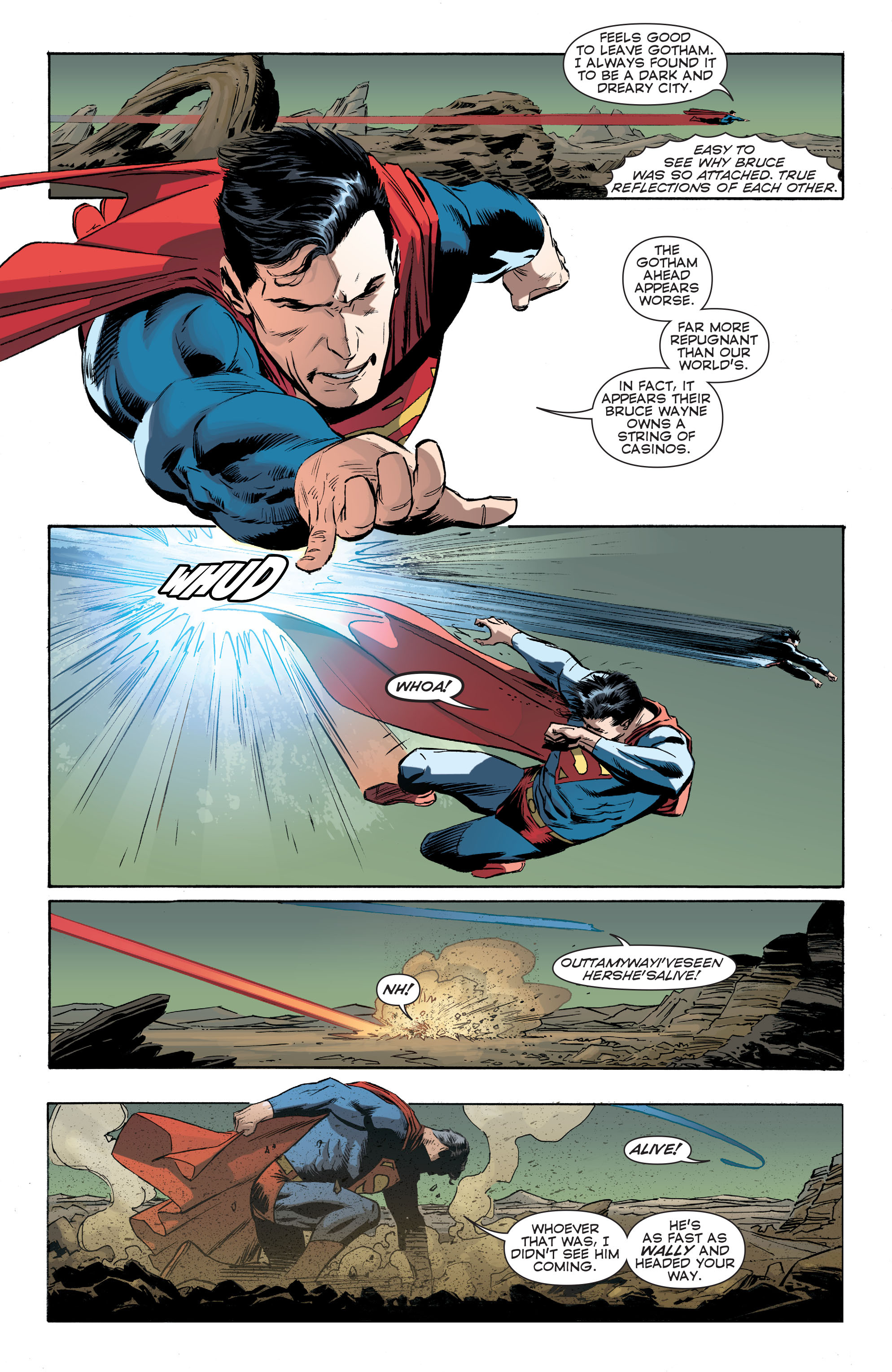 Read online Convergence Superman comic -  Issue #1 - 16