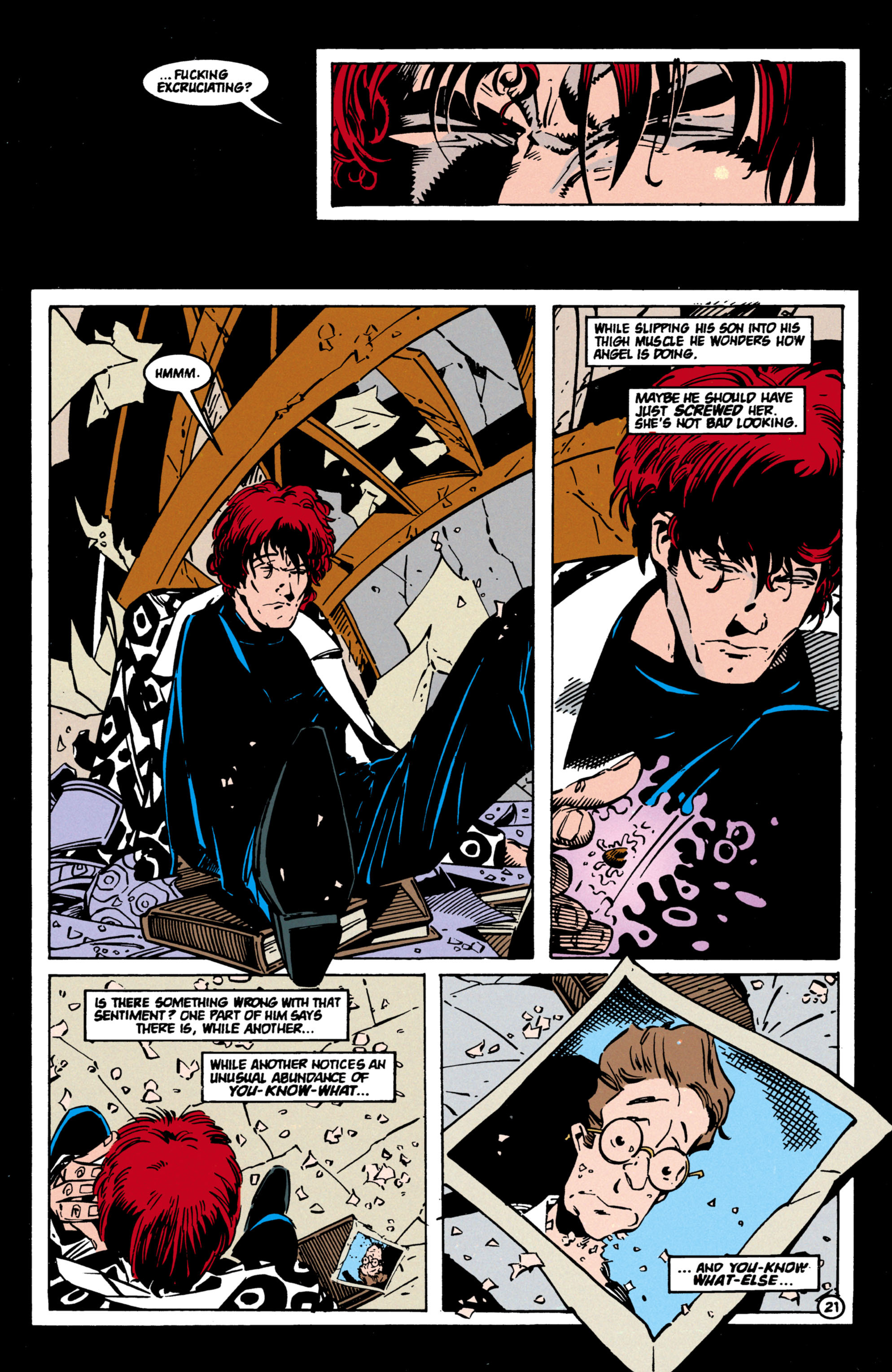Read online Shade, the Changing Man comic -  Issue #60 - 22