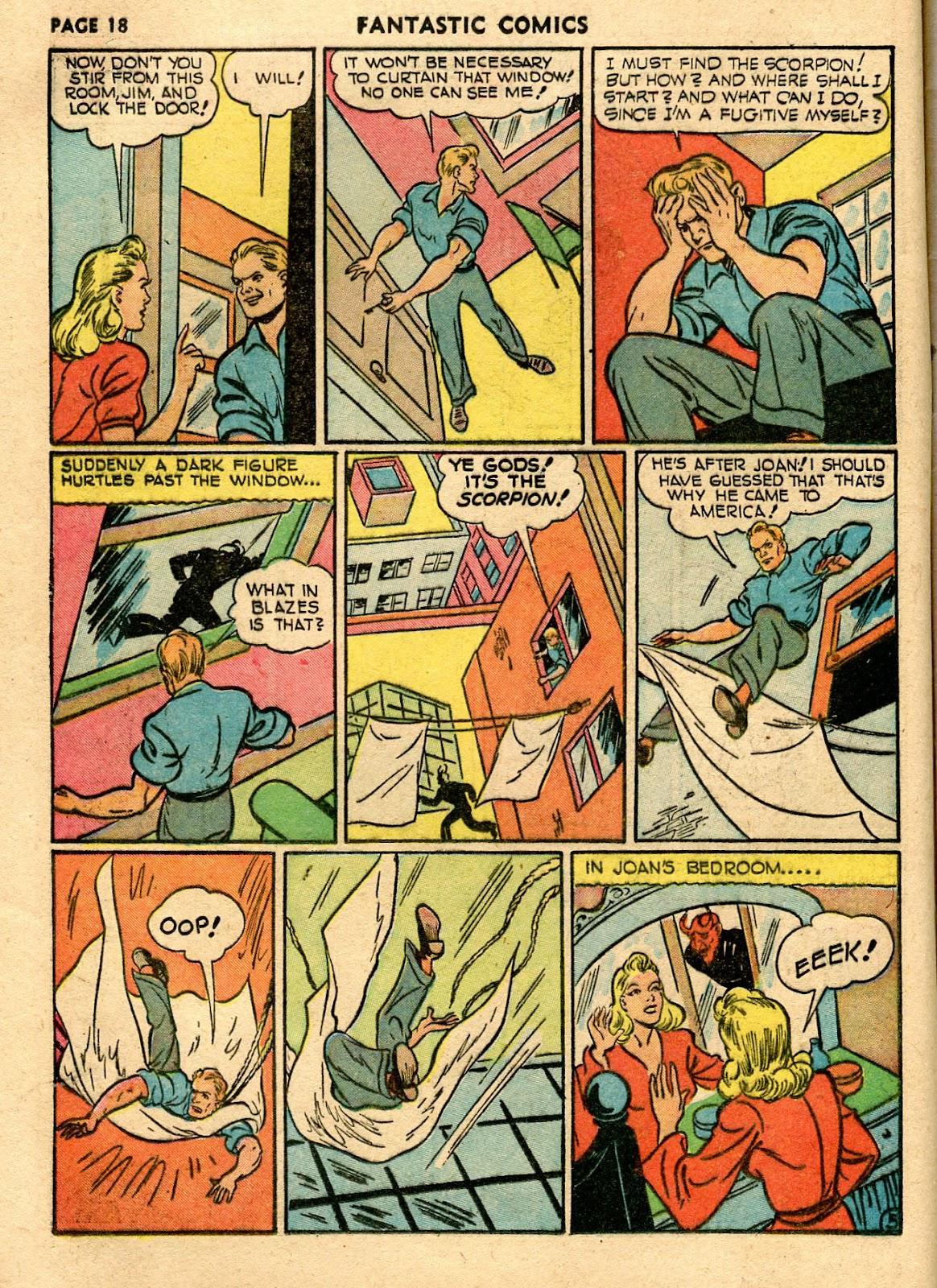 Read online Fantastic Comics comic -  Issue #21 - 20