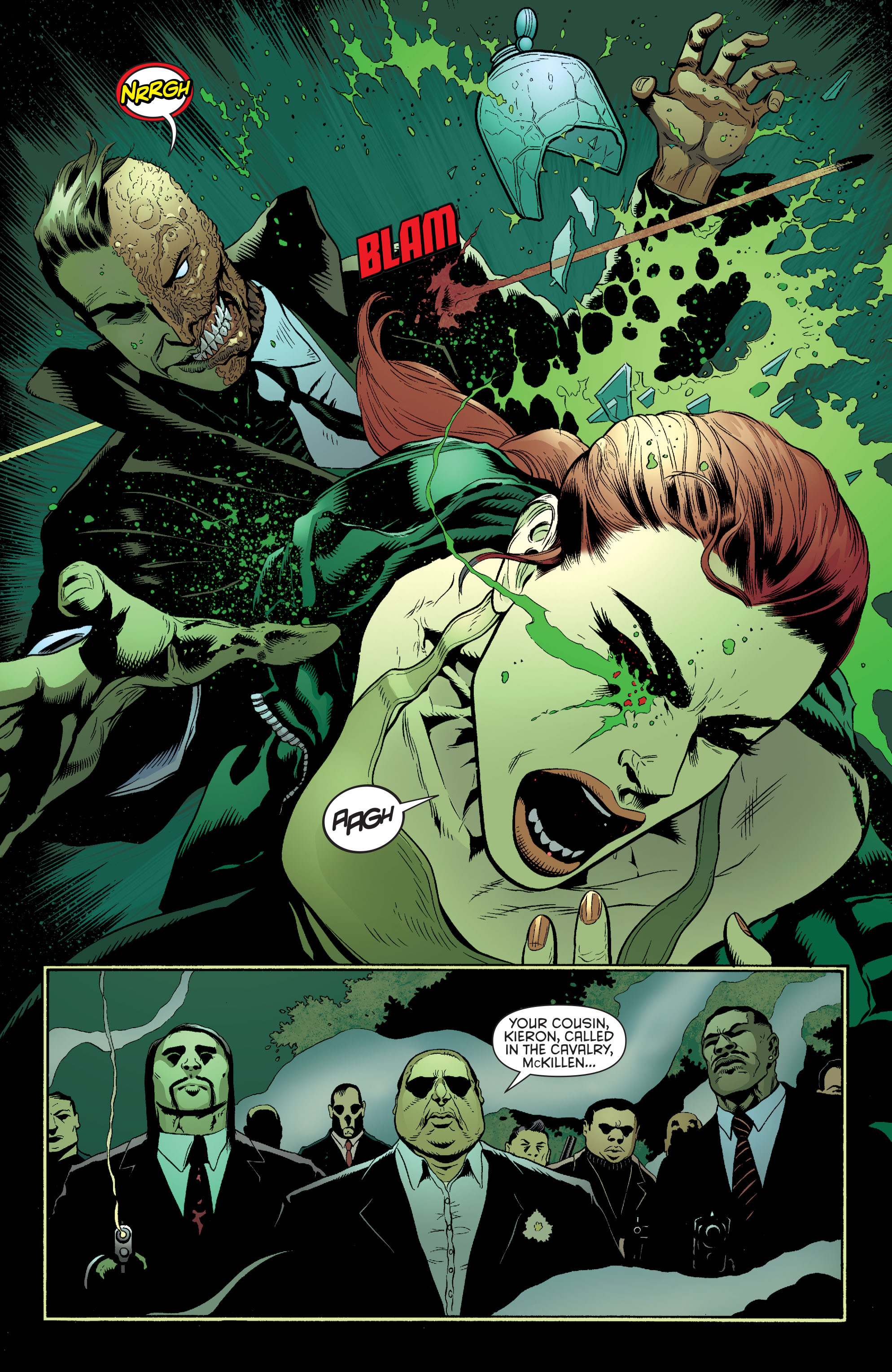 Read online Batman and Robin (2011) comic -  Issue #27 - Batman and Two-Face - 5