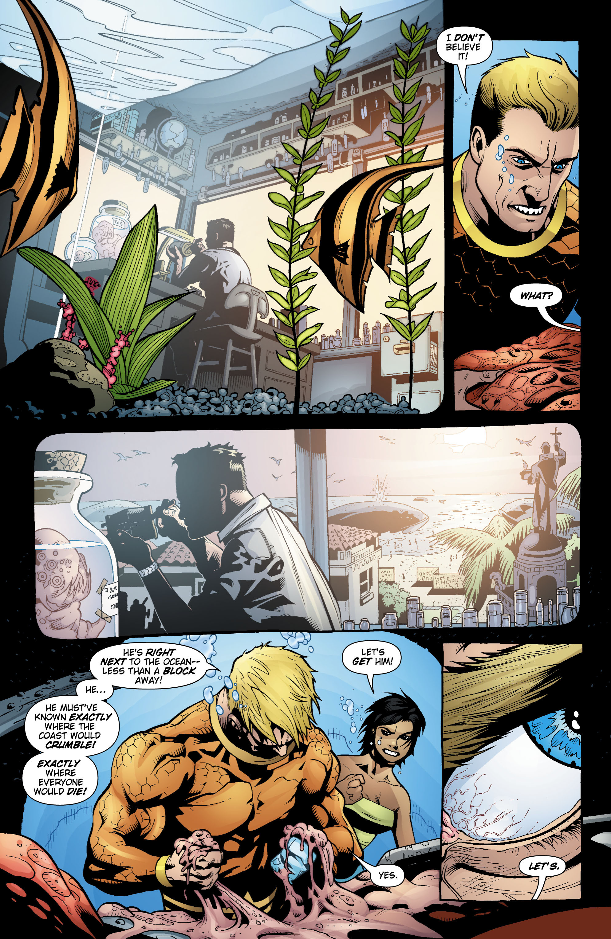 Read online Aquaman (2003) comic -  Issue #18 - 18