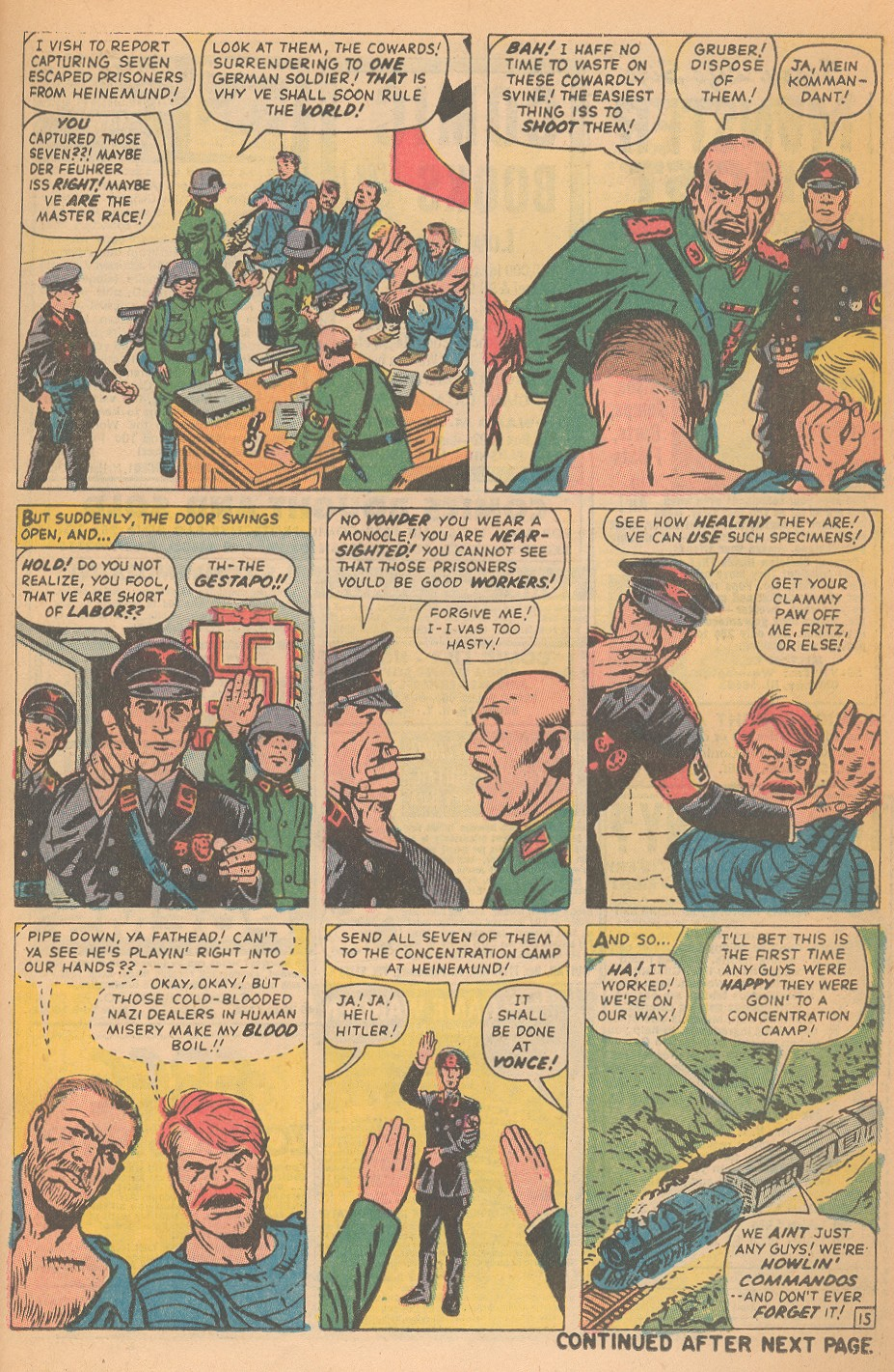 Read online Sgt. Fury comic -  Issue #95 - 21