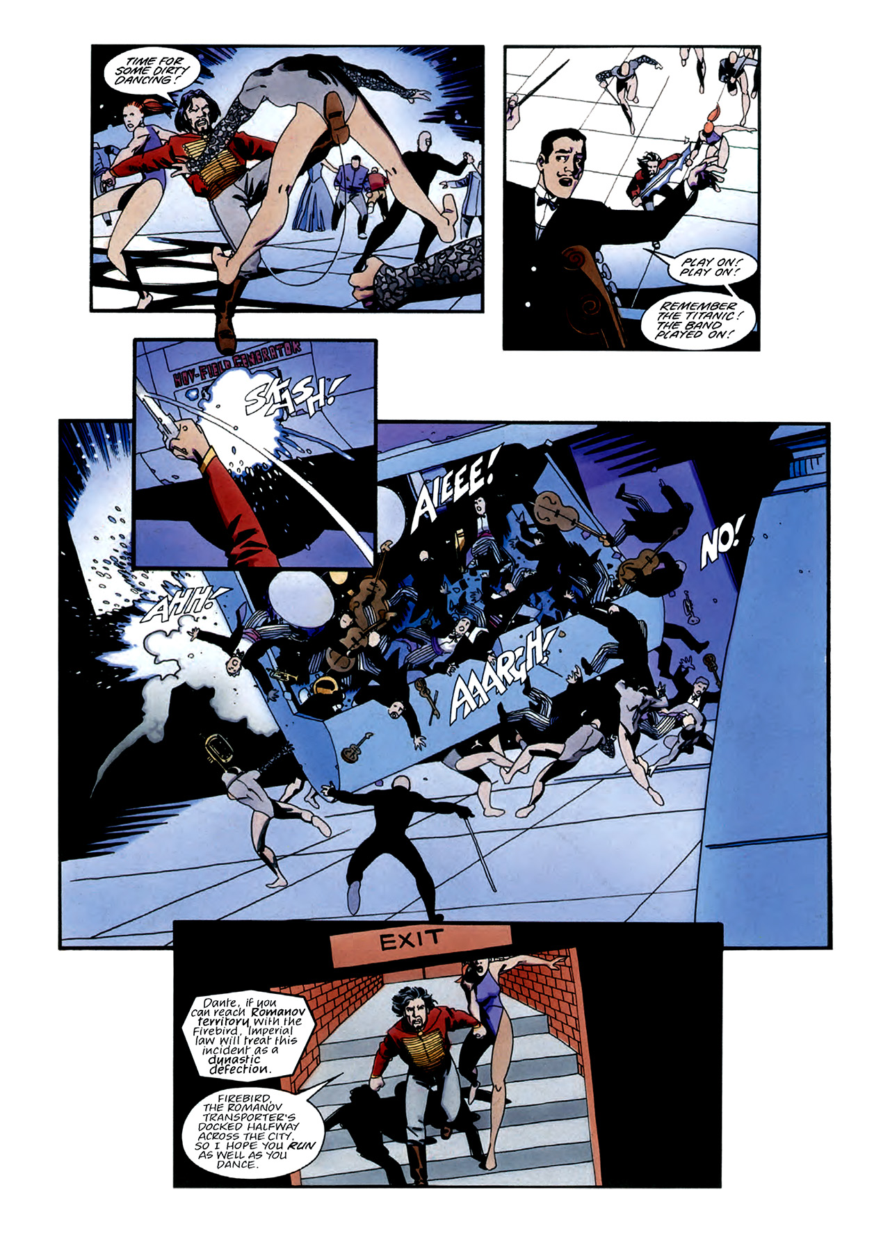 Read online Nikolai Dante comic -  Issue # TPB 3 - 25