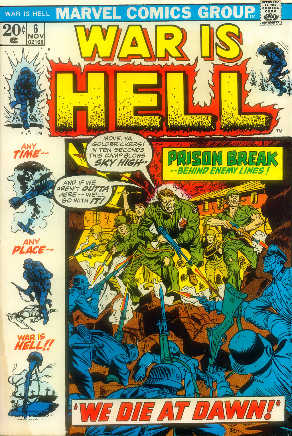 War Is Hell (1973) issue 6 - Page 1