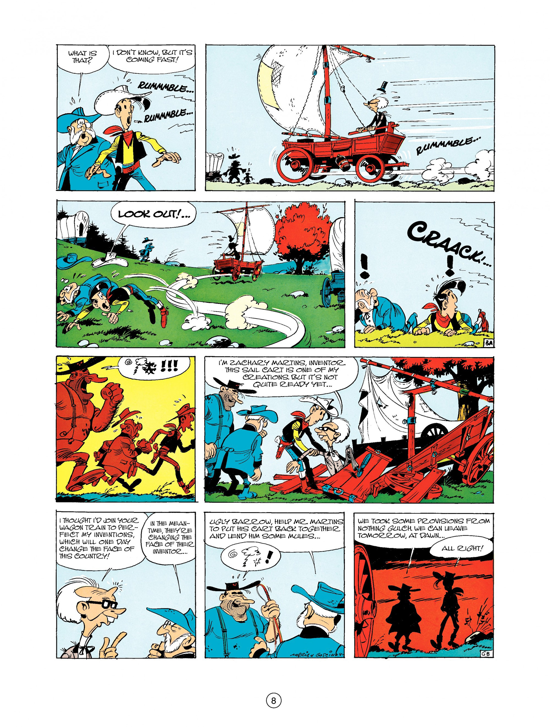 Read online A Lucky Luke Adventure comic -  Issue #9 - 8