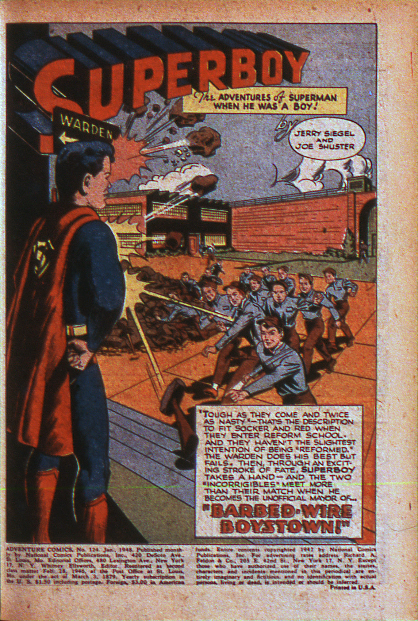 Read online Adventure Comics (1938) comic -  Issue #124 - 4