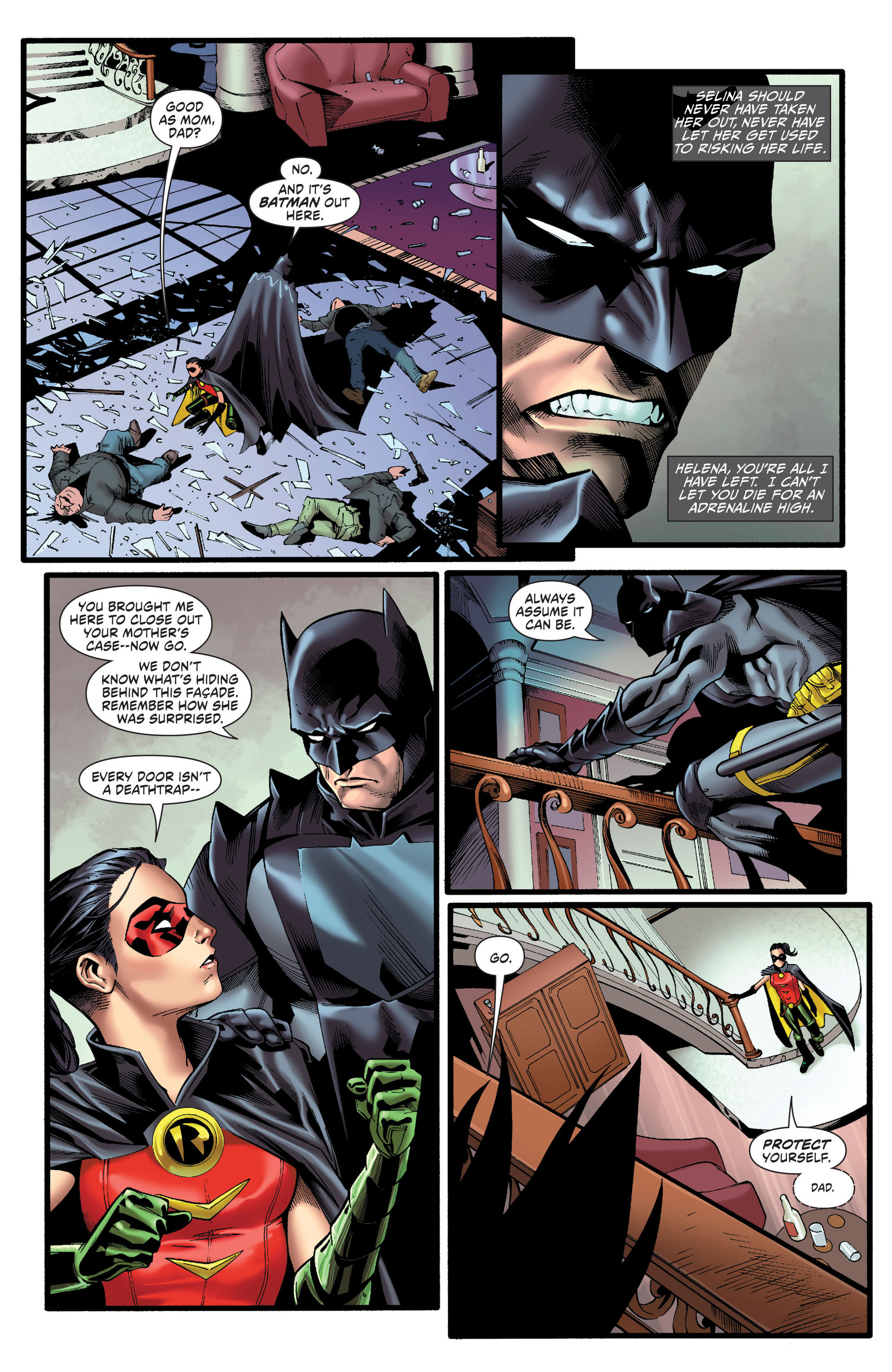 Read online Worlds' Finest comic -  Issue # _Annual 1 - 5