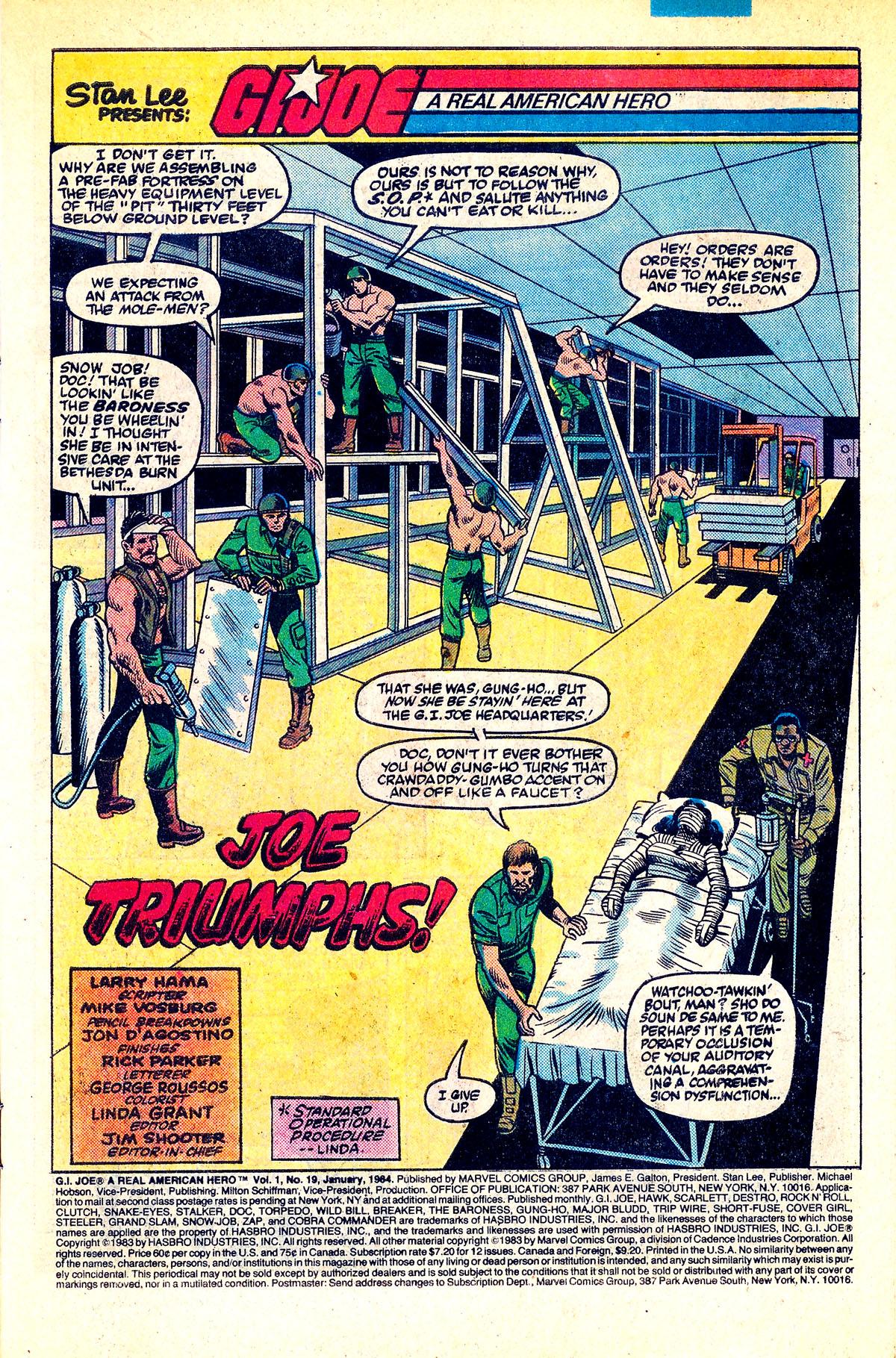 G.I. Joe: A Real American Hero 19 Page 2