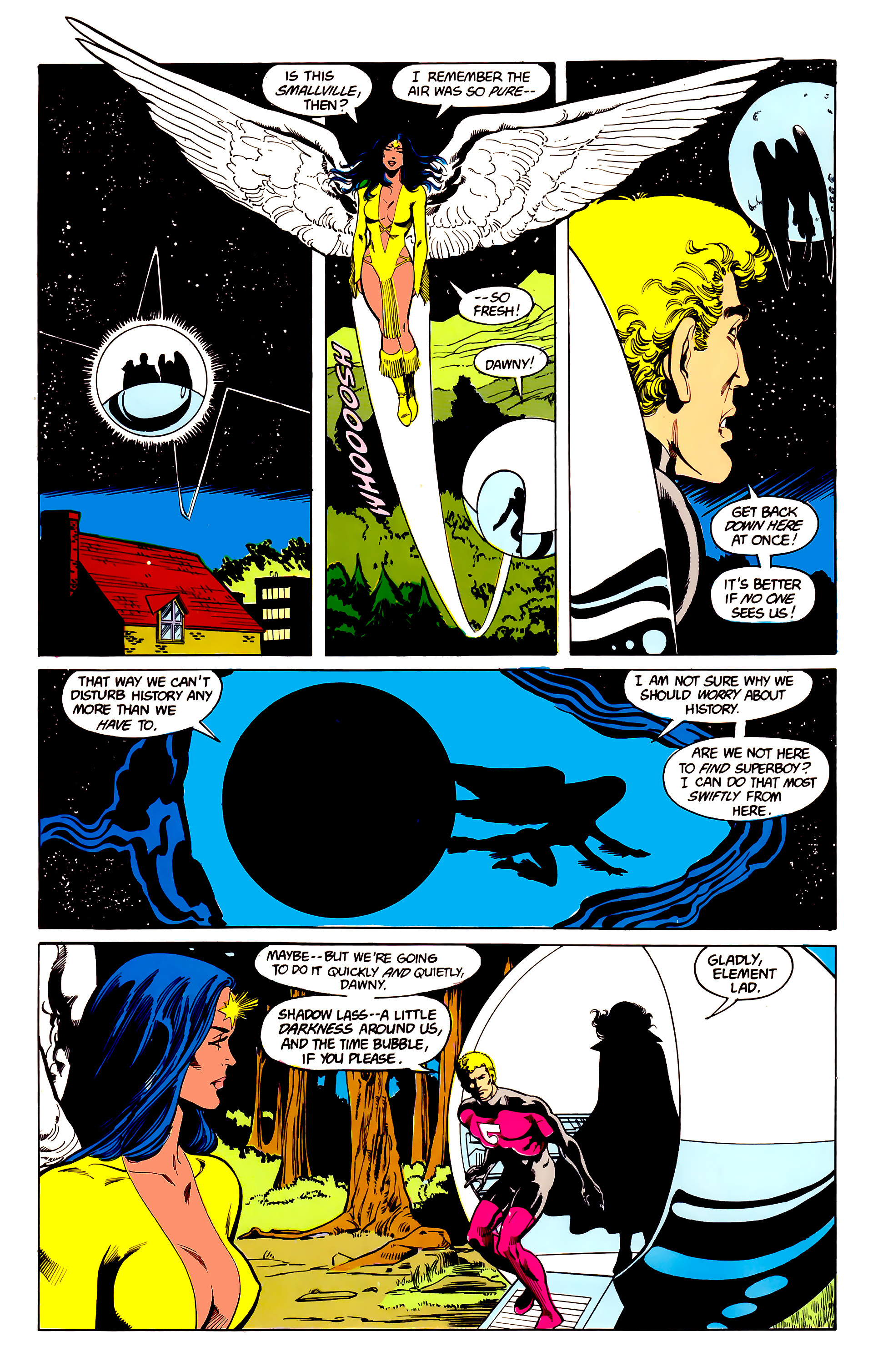 Legion of Super-Heroes (1984) 23 Page 19