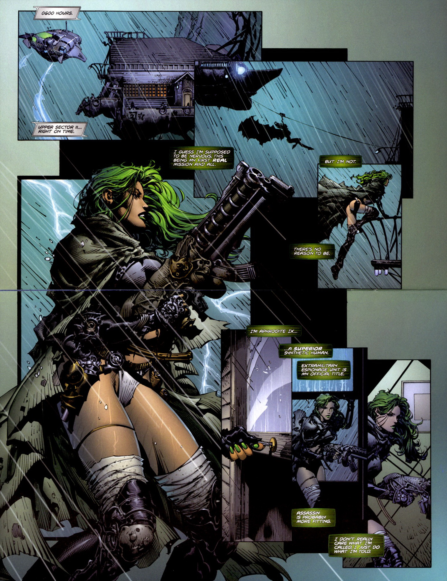 Read online Aphrodite IX (2000) comic -  Issue #2 - 11