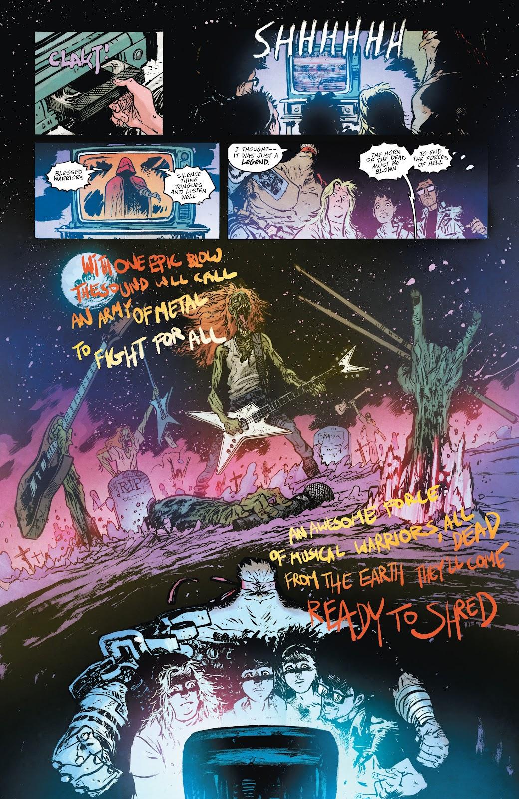 Read online Murder Falcon comic -  Issue #5 - 22