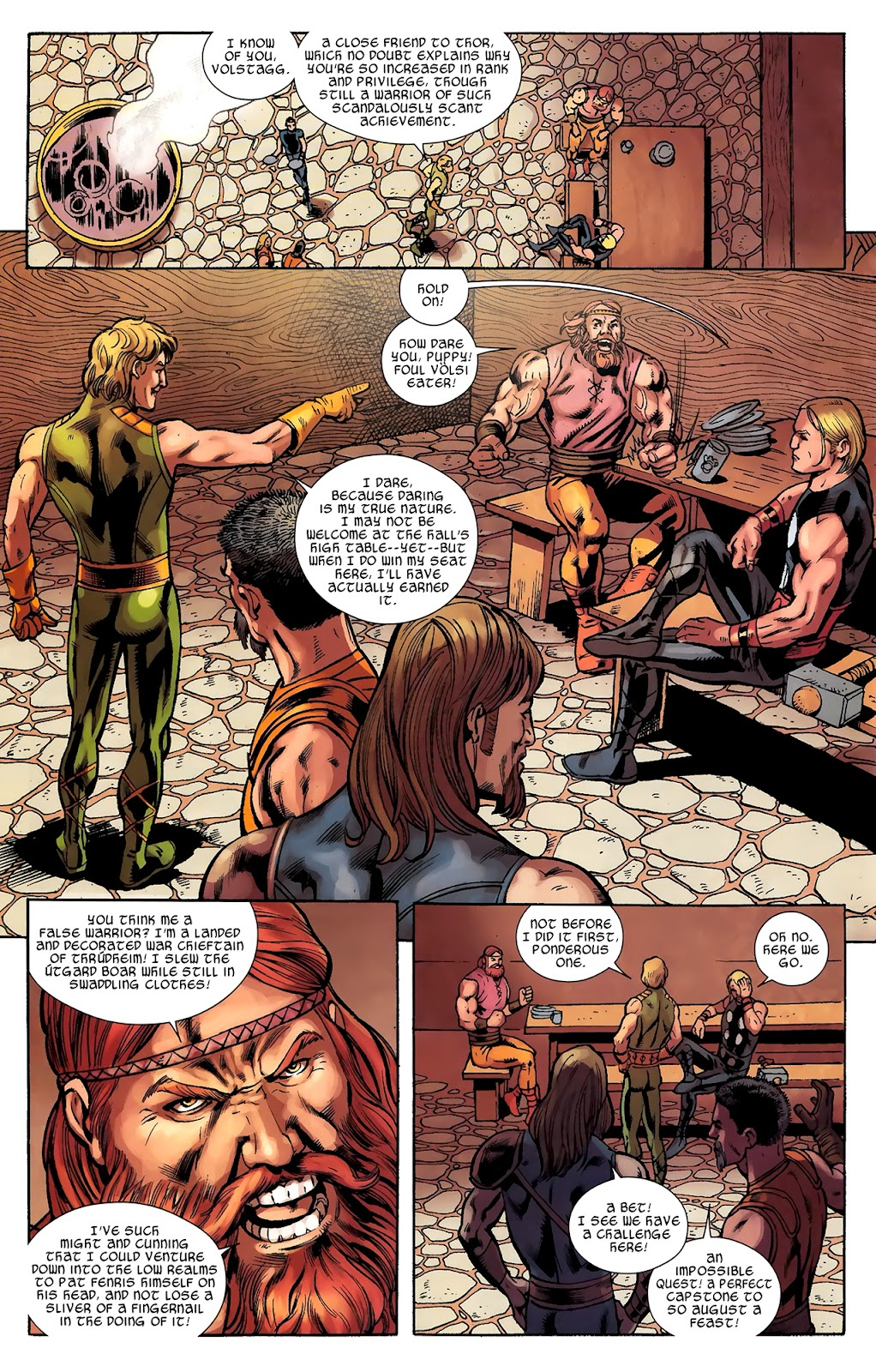 Warriors Three Issue #2 #2 - English 10