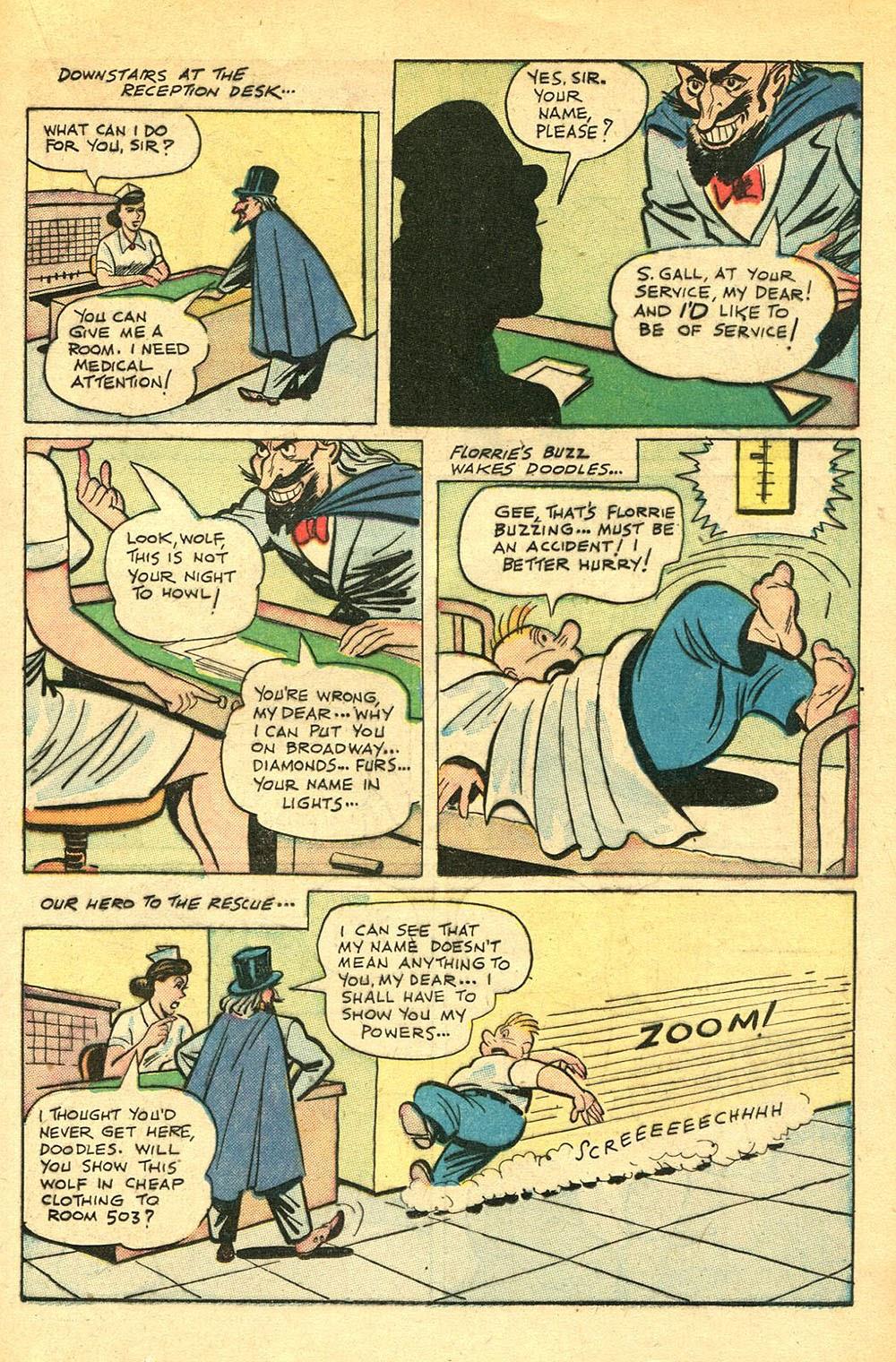 Read online Super-Magician Comics comic -  Issue #56 - 21
