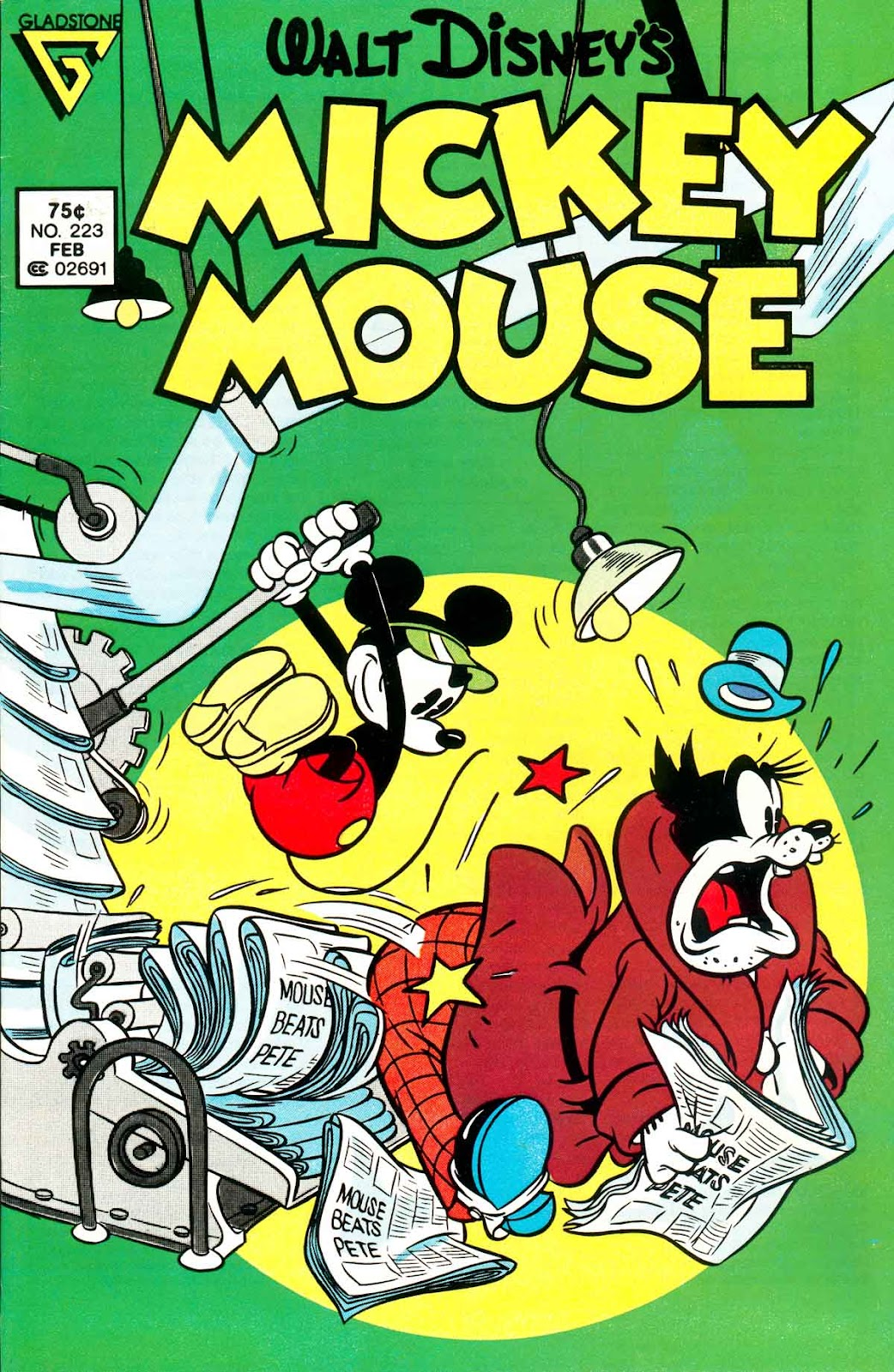 Walt Disney's Mickey Mouse issue 223 - Page 1
