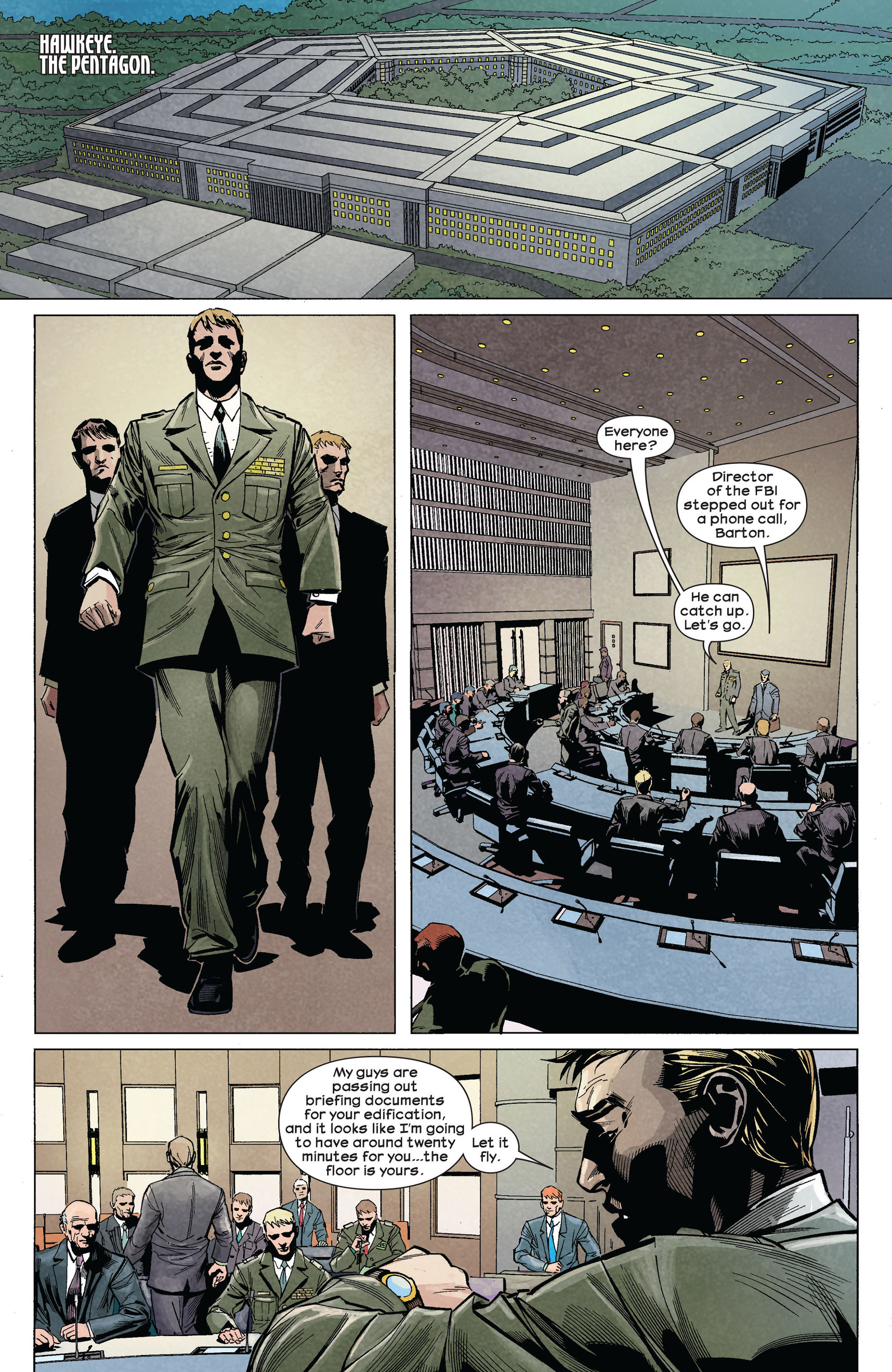 Read online Ultimate Comics Ultimates comic -  Issue #5 - 10