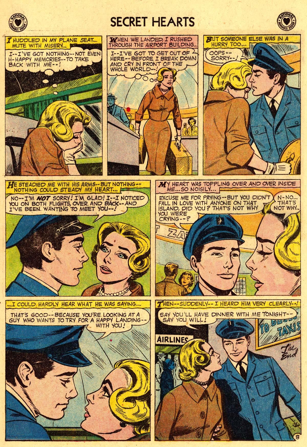 Read online Secret Hearts comic -  Issue #57 - 17