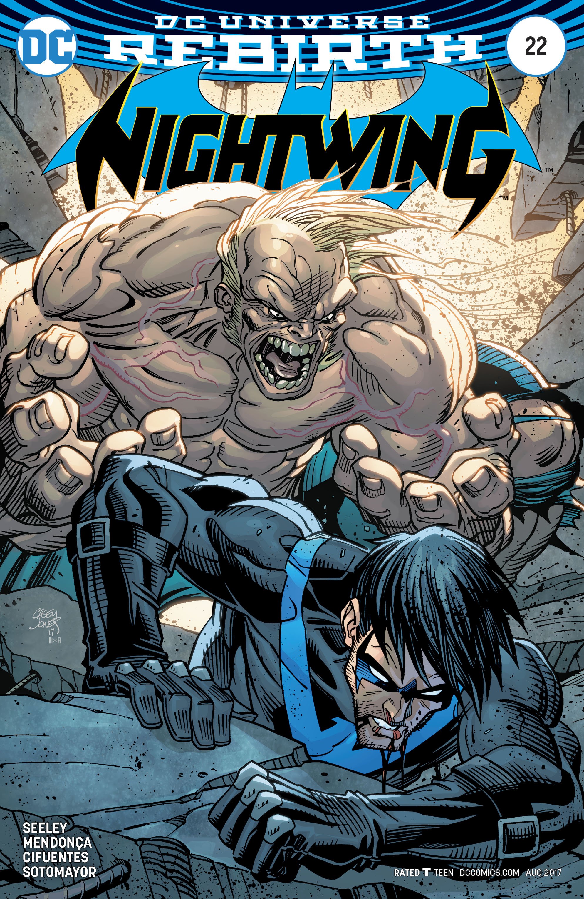Read online Nightwing (2016) comic -  Issue #22 - 2