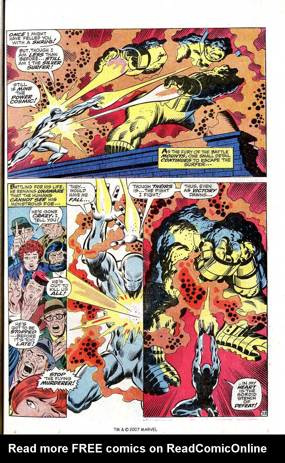 Read online Silver Surfer (1968) comic -  Issue #2 - 43