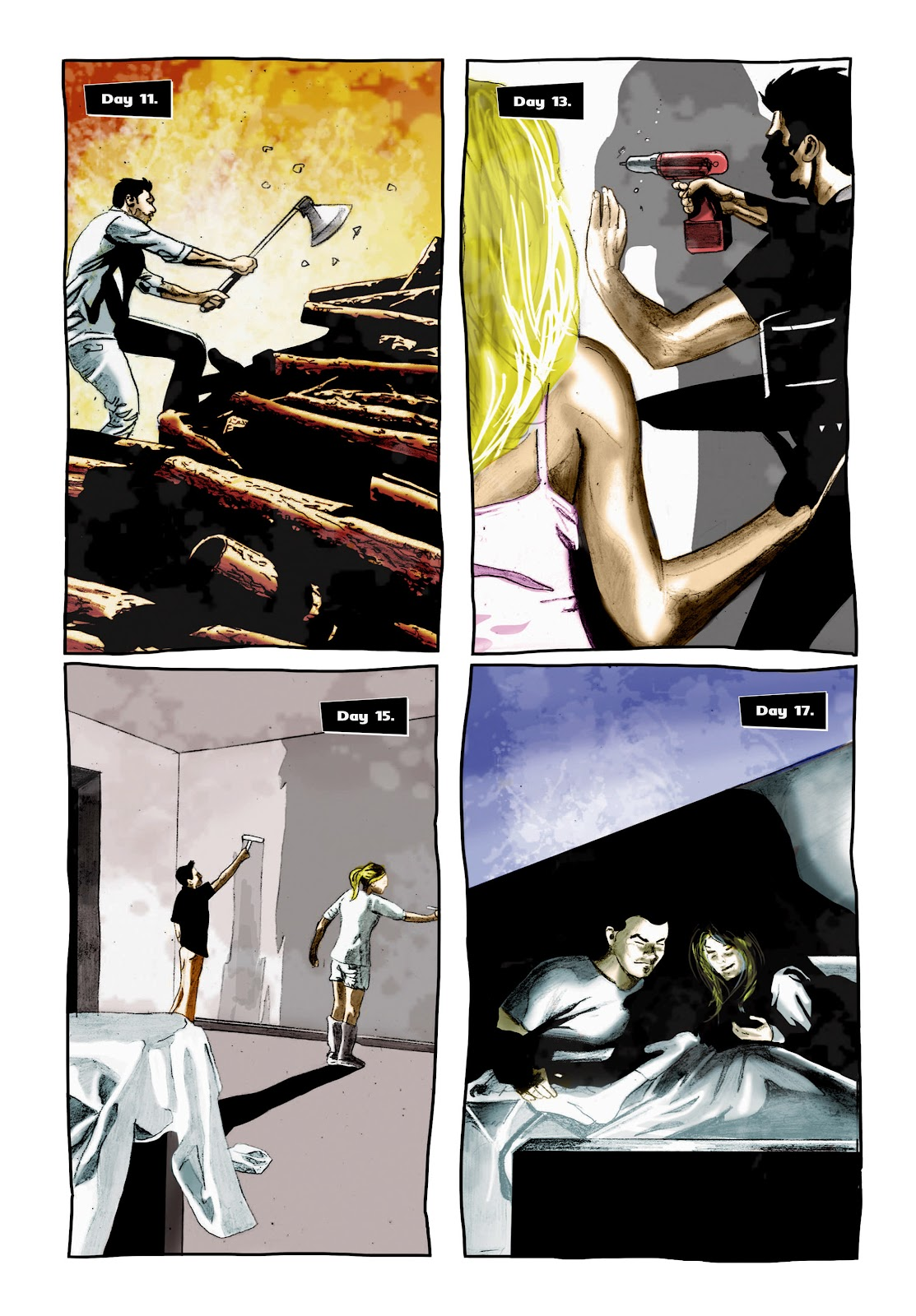 Read online Cursed Land comic -  Issue #2 - 7