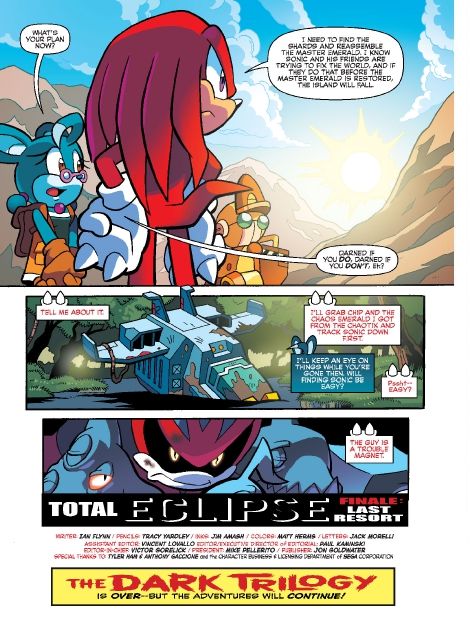 Read online Sonic Comics Spectacular: Speed of Sound comic -  Issue # Full - 254
