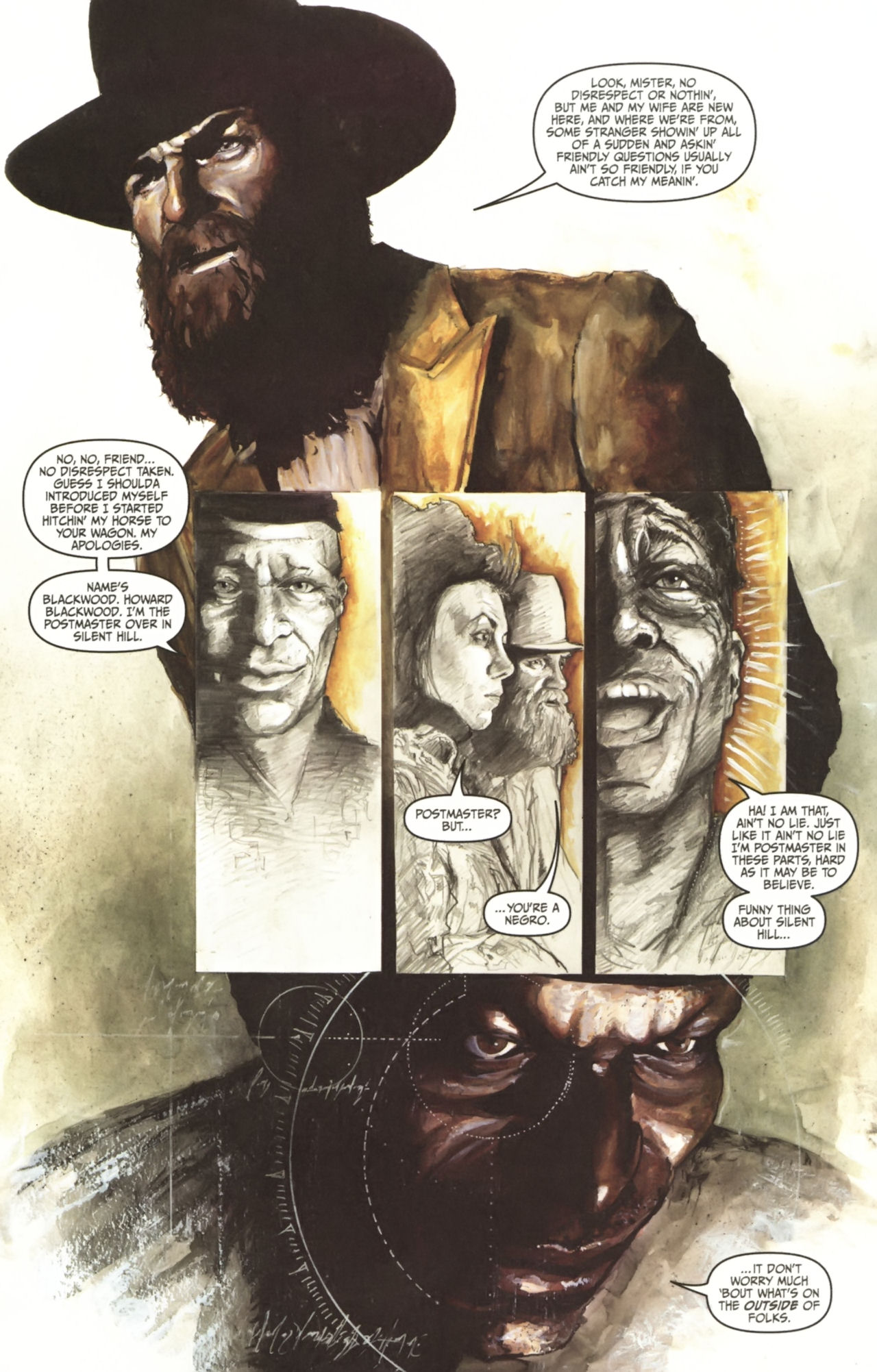 Read online Silent Hill: Past Life comic -  Issue #1 - 7