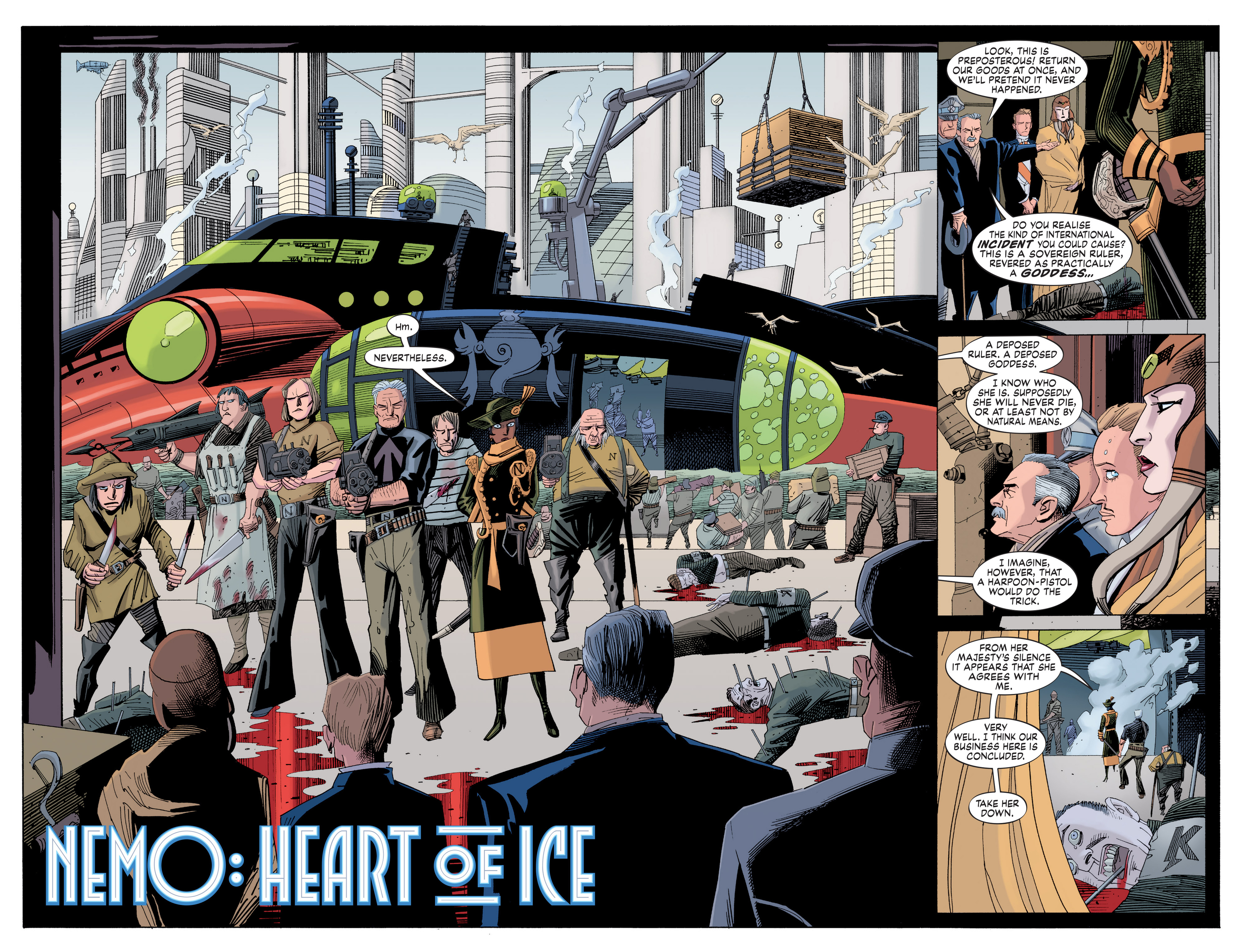 Read online Nemo: Heart of Ice comic -  Issue # Full - 9