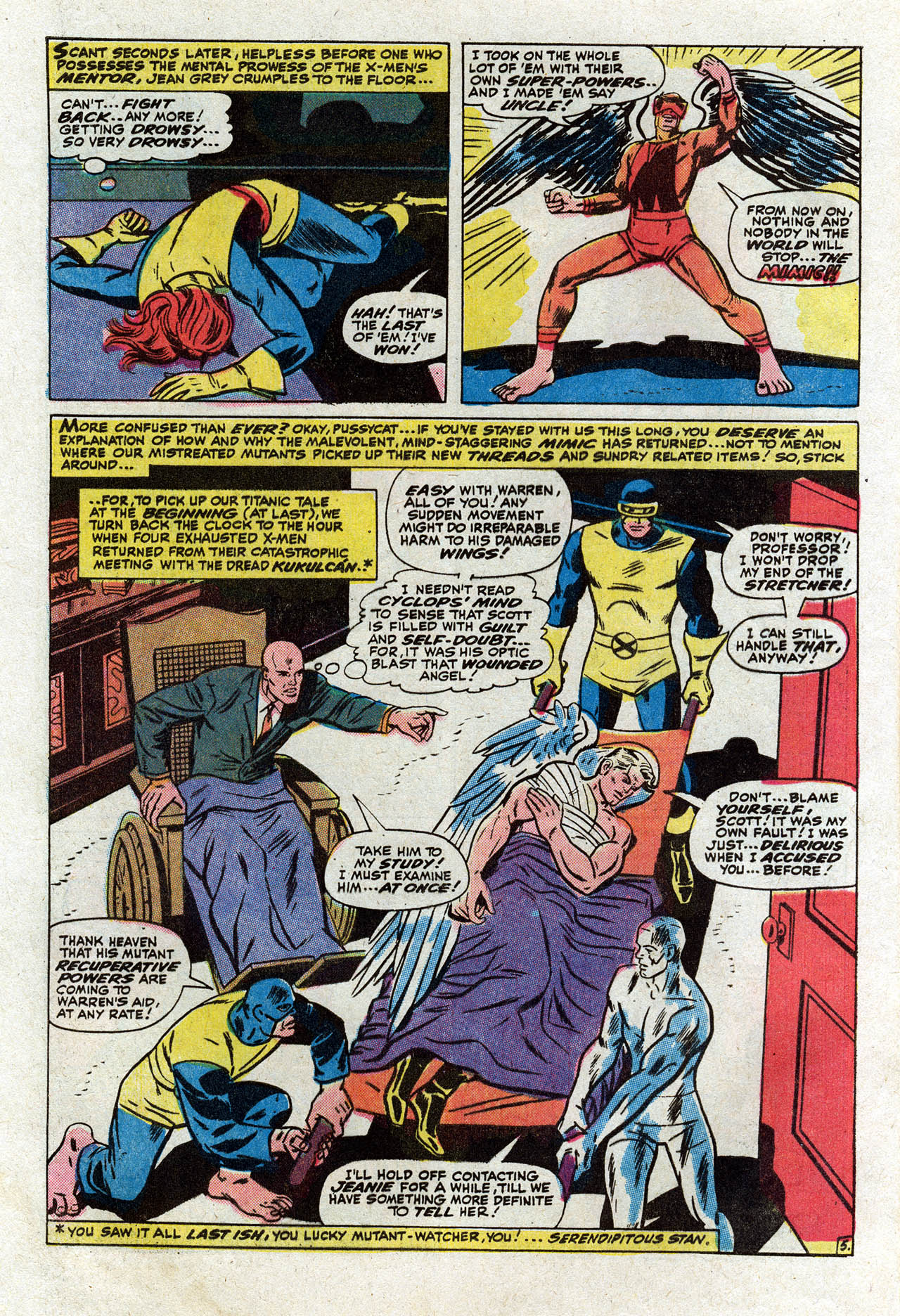Read online Uncanny X-Men (1963) comic -  Issue #75 - 8