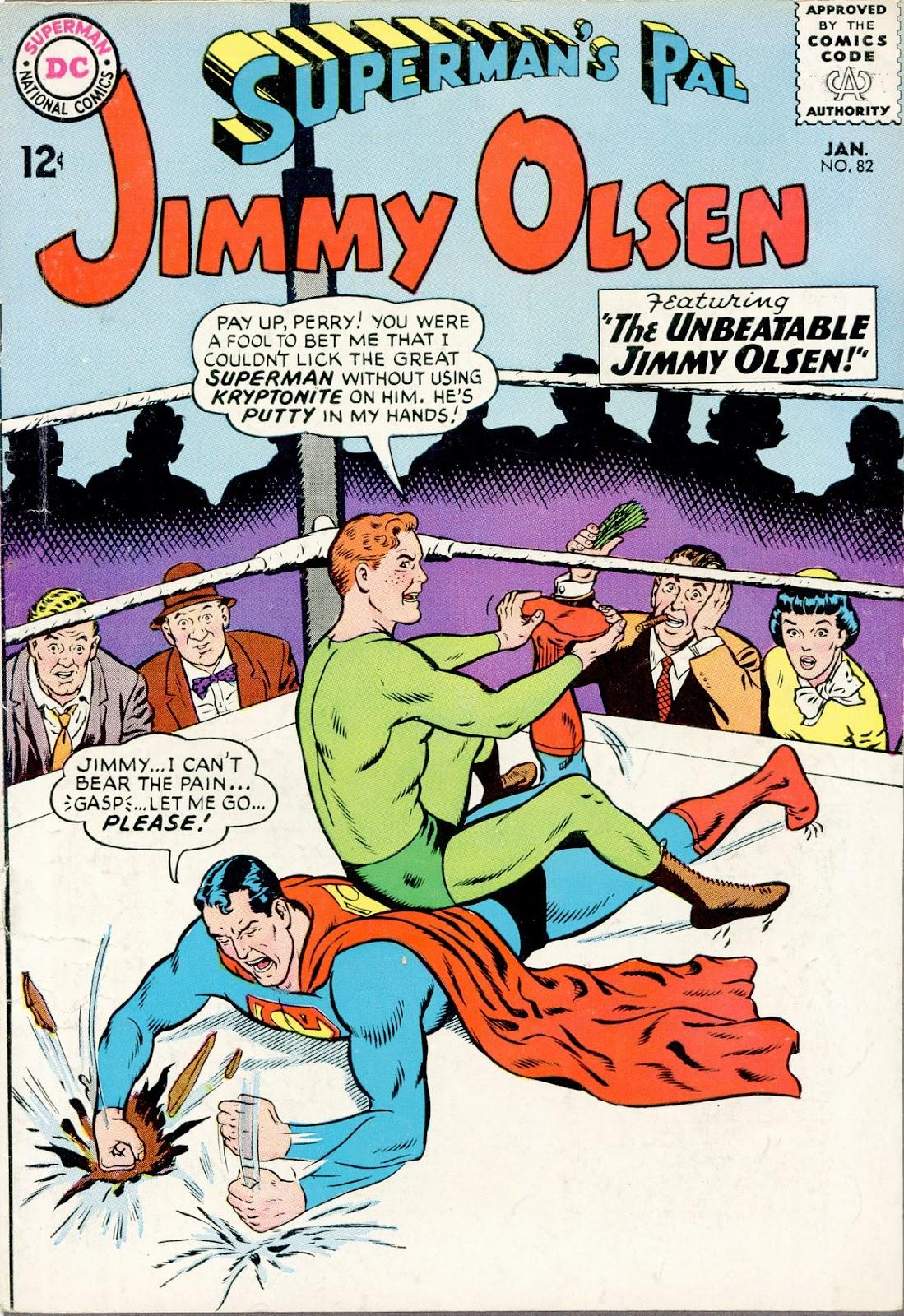 Supermans Pal Jimmy Olsen (1954) 82 Page 1
