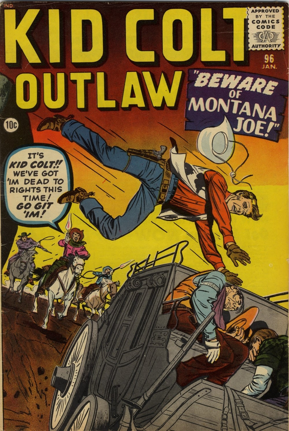 Kid Colt Outlaw issue 96 - Page 1