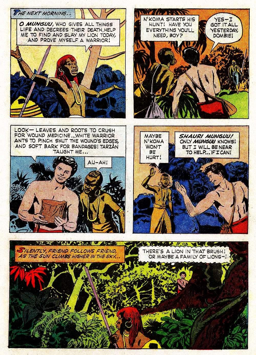 Tarzan (1962) issue 139 - Page 21