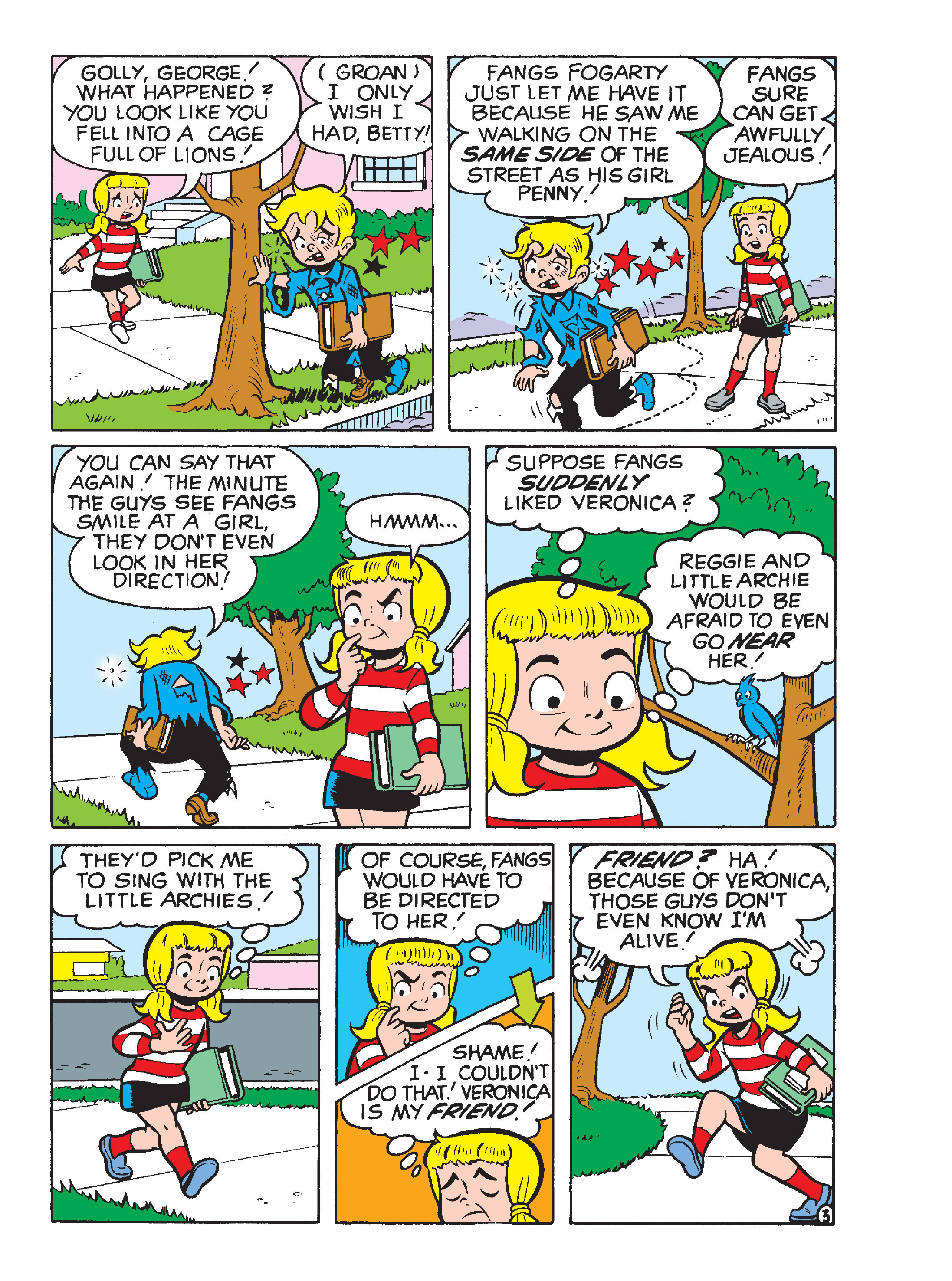 Read online Archie's Funhouse Double Digest comic -  Issue #15 - 251