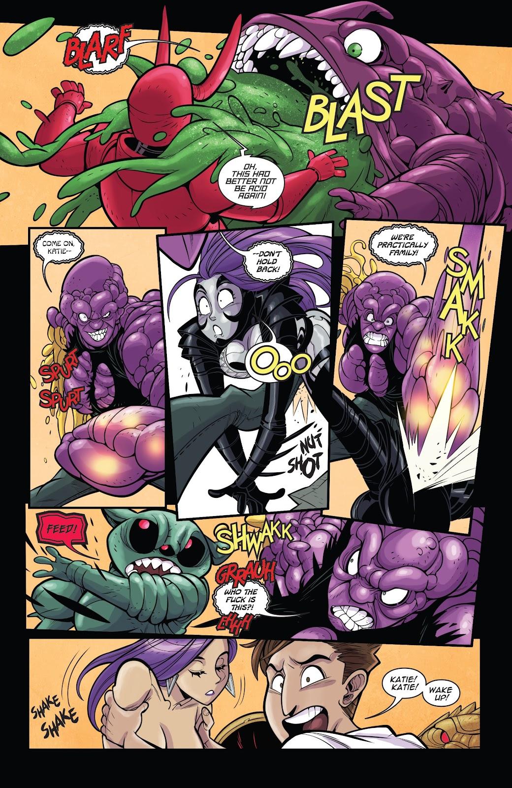 Read online Vampblade Season 3 comic -  Issue #11 - 17