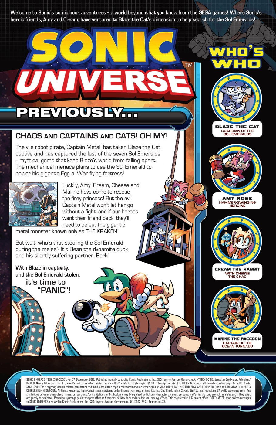 Read online Sonic Universe comic -  Issue #57 - 2