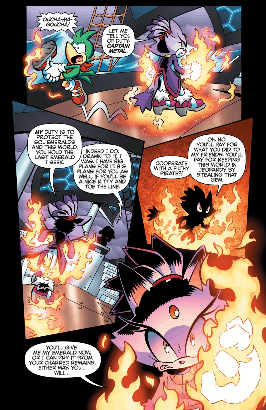 Read online Sonic Universe comic -  Issue #55 - 20