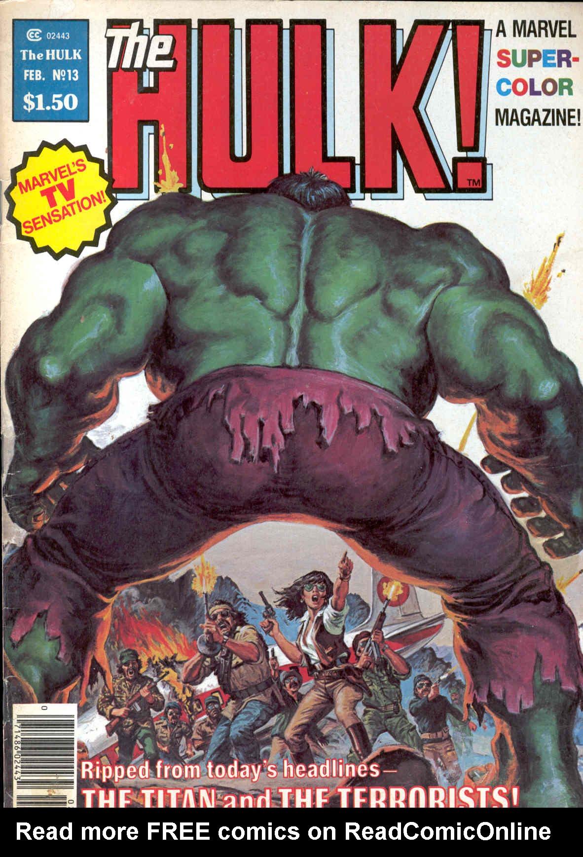 Hulk (1978) 13 Page 1