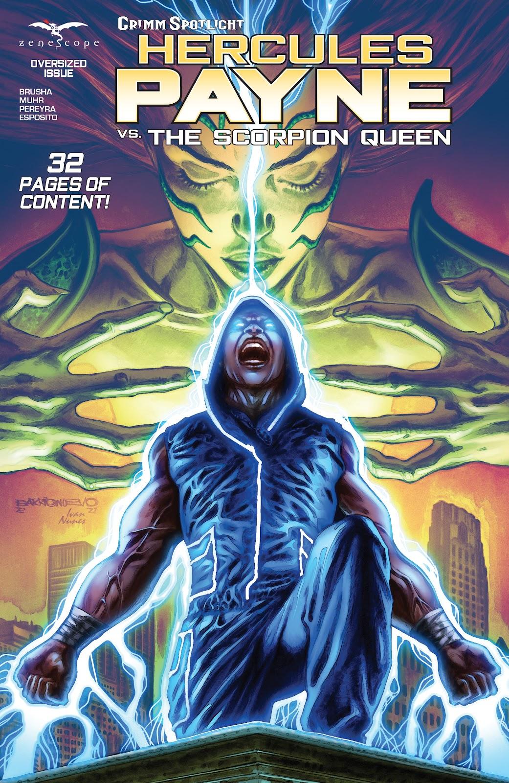 Grimm Spotlight: Hercules Payne vs Scorpion Queen Full Page 1