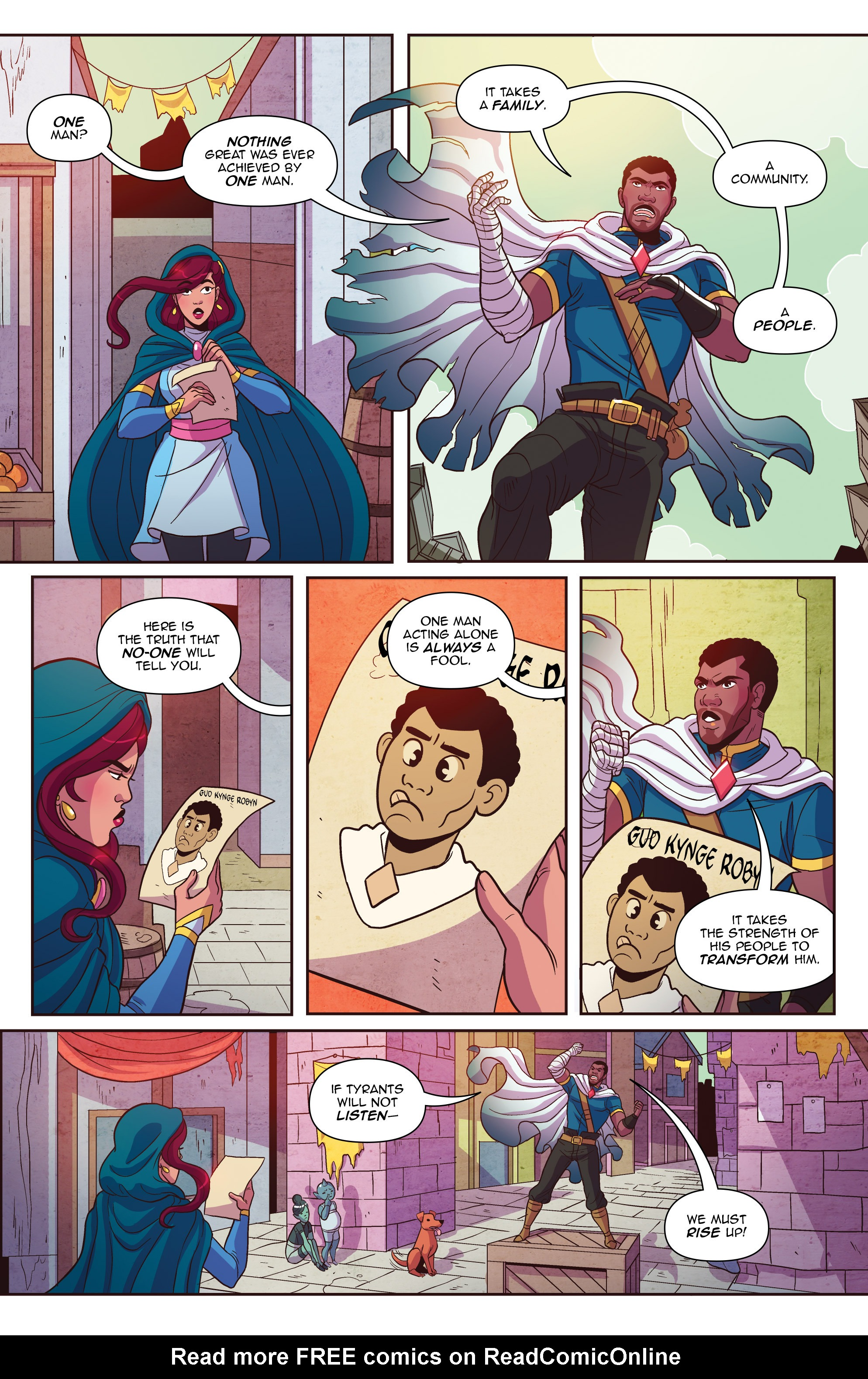 Read online Another Castle comic -  Issue #3 - 18