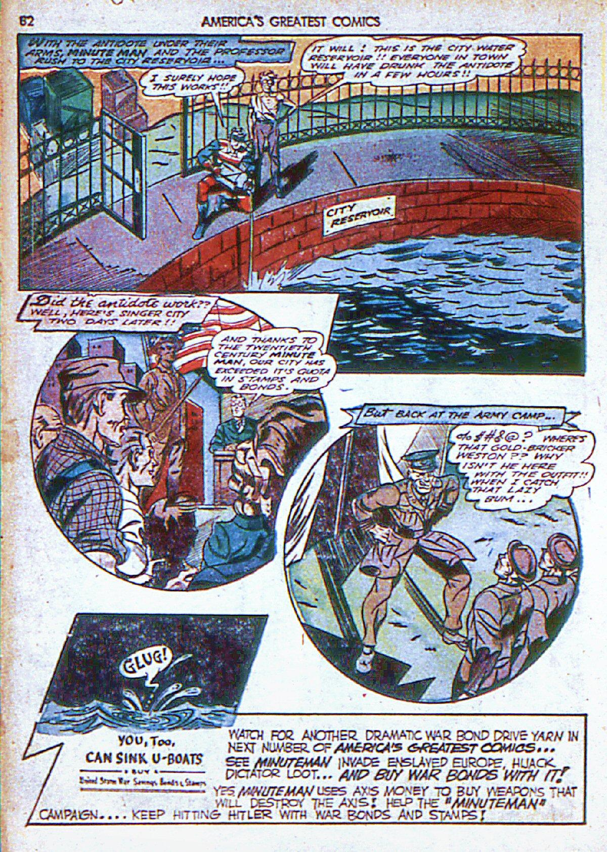 Read online America's Greatest Comics comic -  Issue #6 - 83