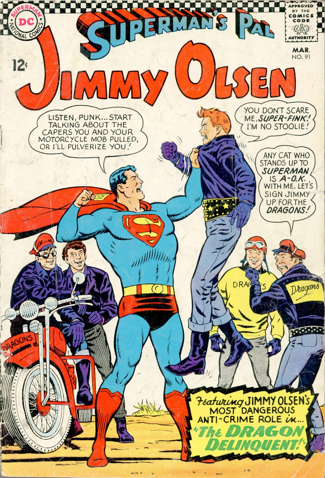 Supermans Pal Jimmy Olsen (1954) 91 Page 1