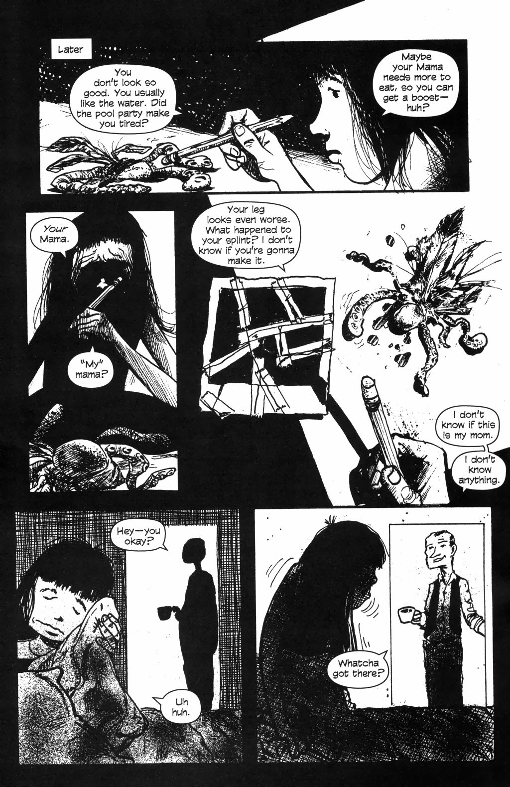 Read online Ojo comic -  Issue #2 - 20