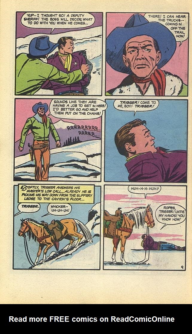 Read online Roy Rogers comic -  Issue #1 - 12