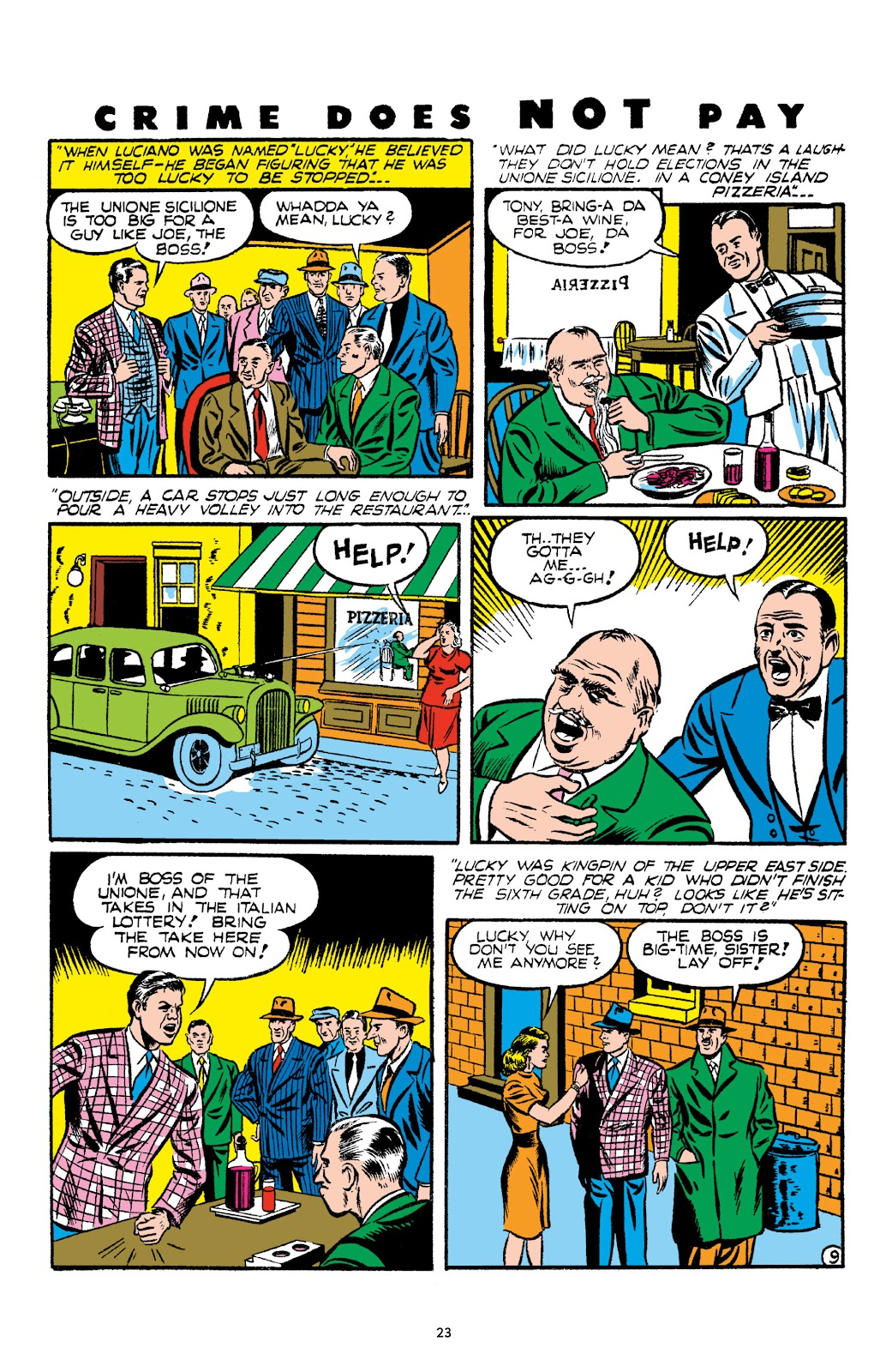 Read online Crime Does Not Pay Archives comic -  Issue # TPB 2 (Part 1) - 23