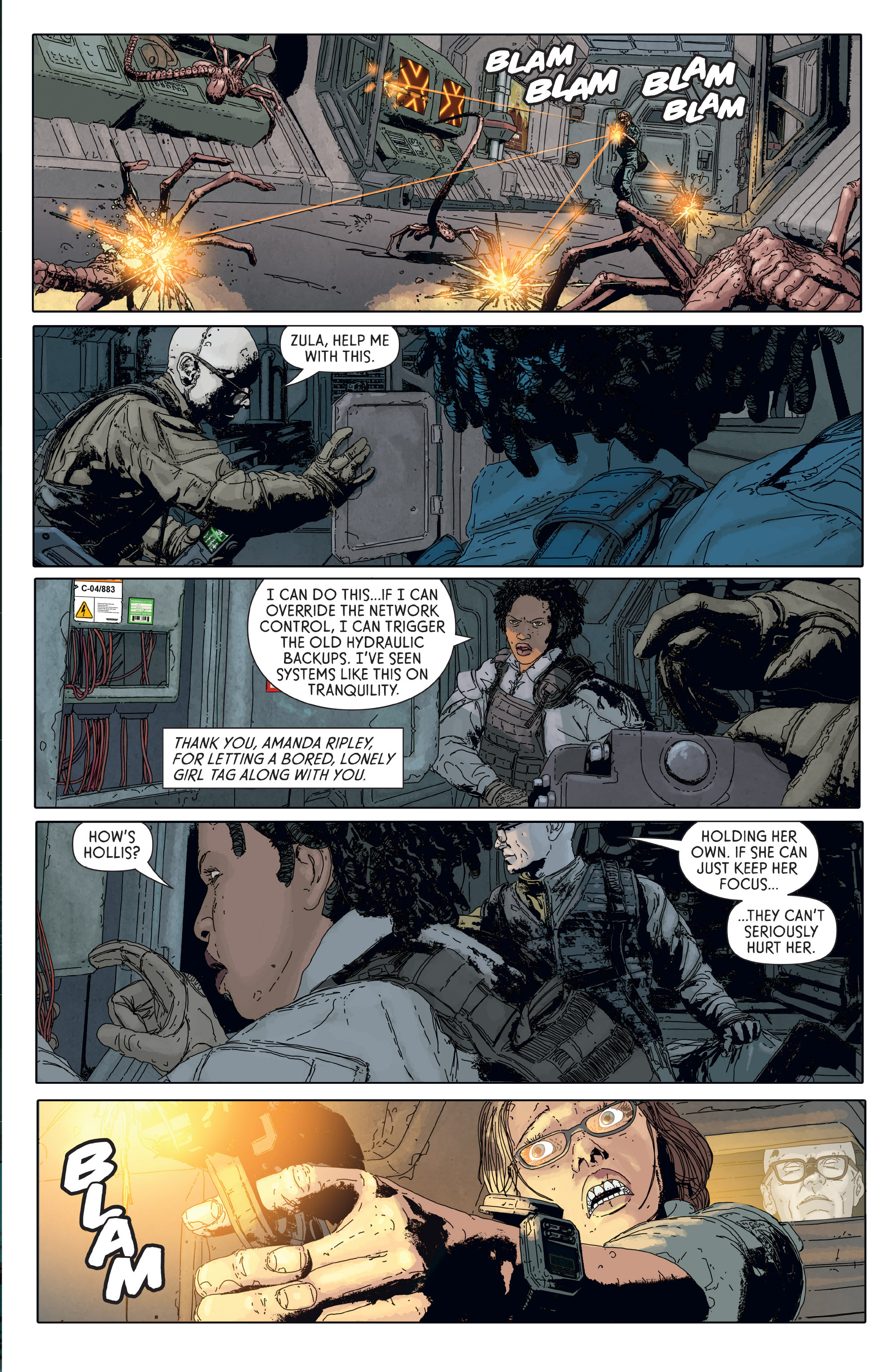 Read online Aliens: Defiance comic -  Issue #6 - 13