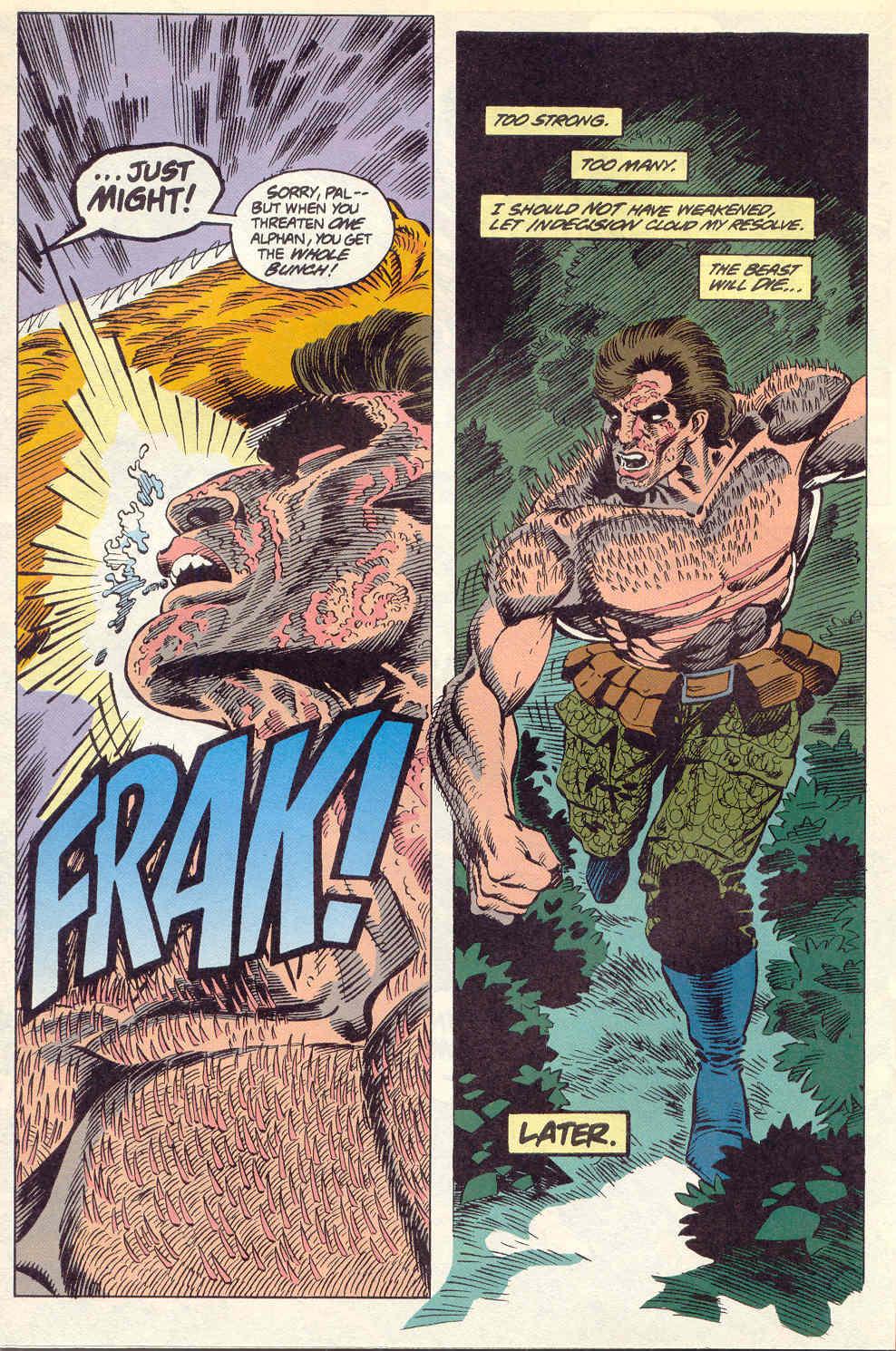 Read online Alpha Flight (1983) comic -  Issue #115 - 17