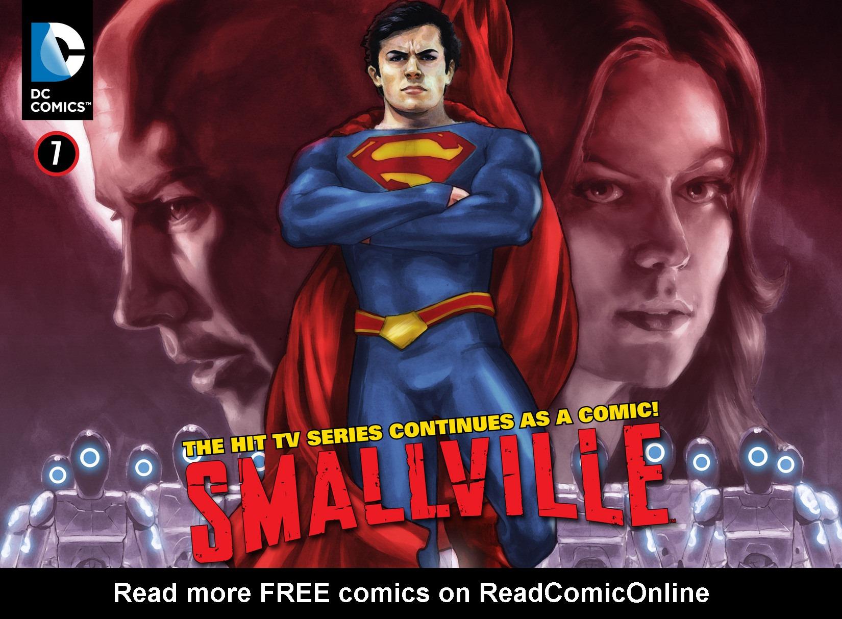 Read online Smallville: Season 11 comic -  Issue #7 - 1