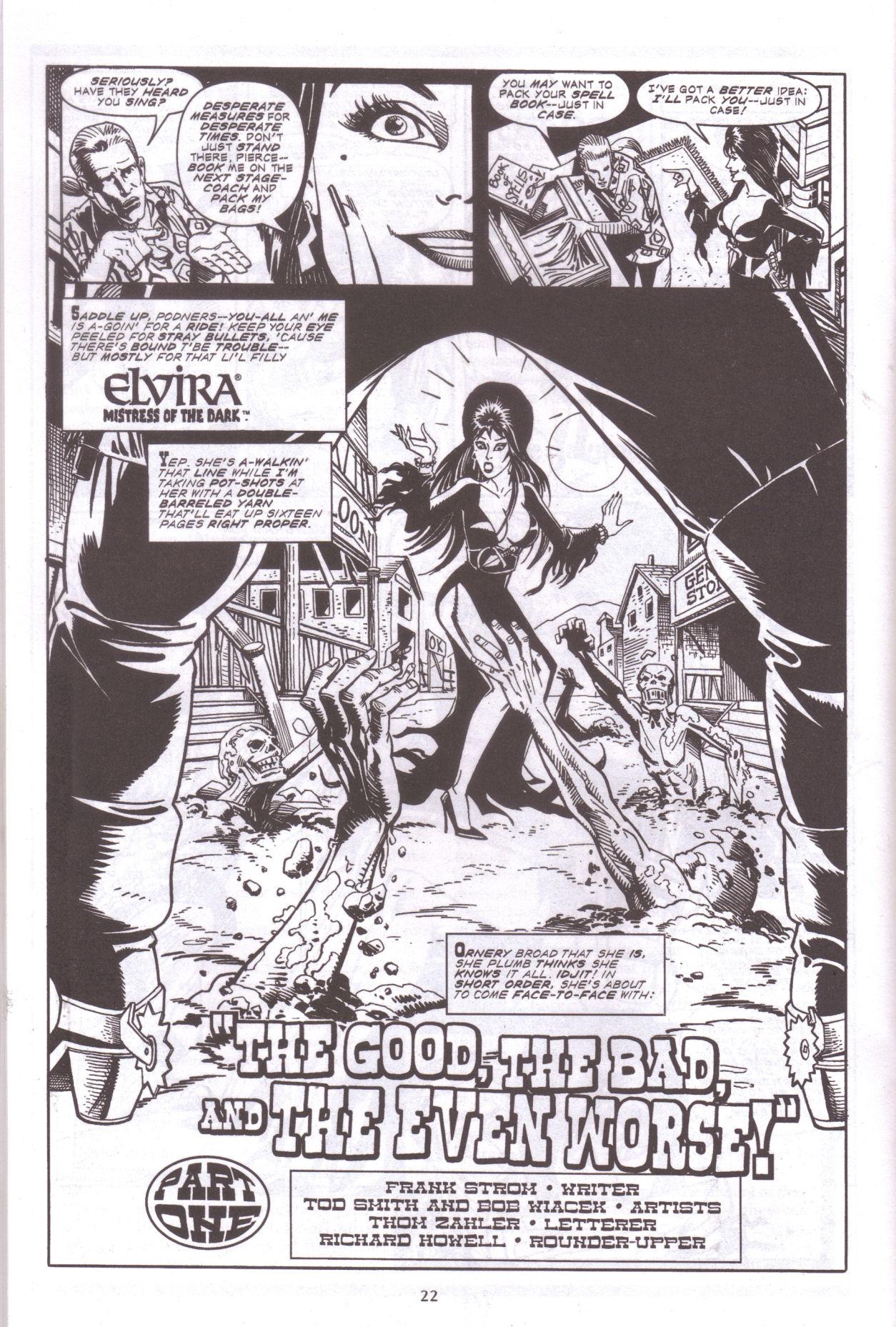 Read online Elvira, Mistress of the Dark comic -  Issue #159 - 24