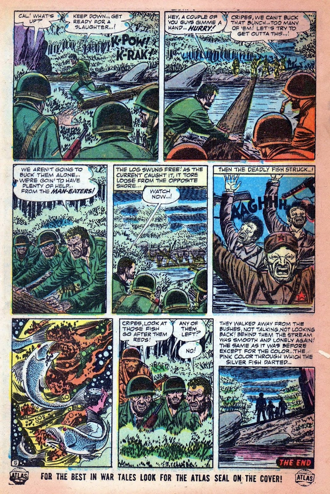 Combat (1952) issue 7 - Page 32