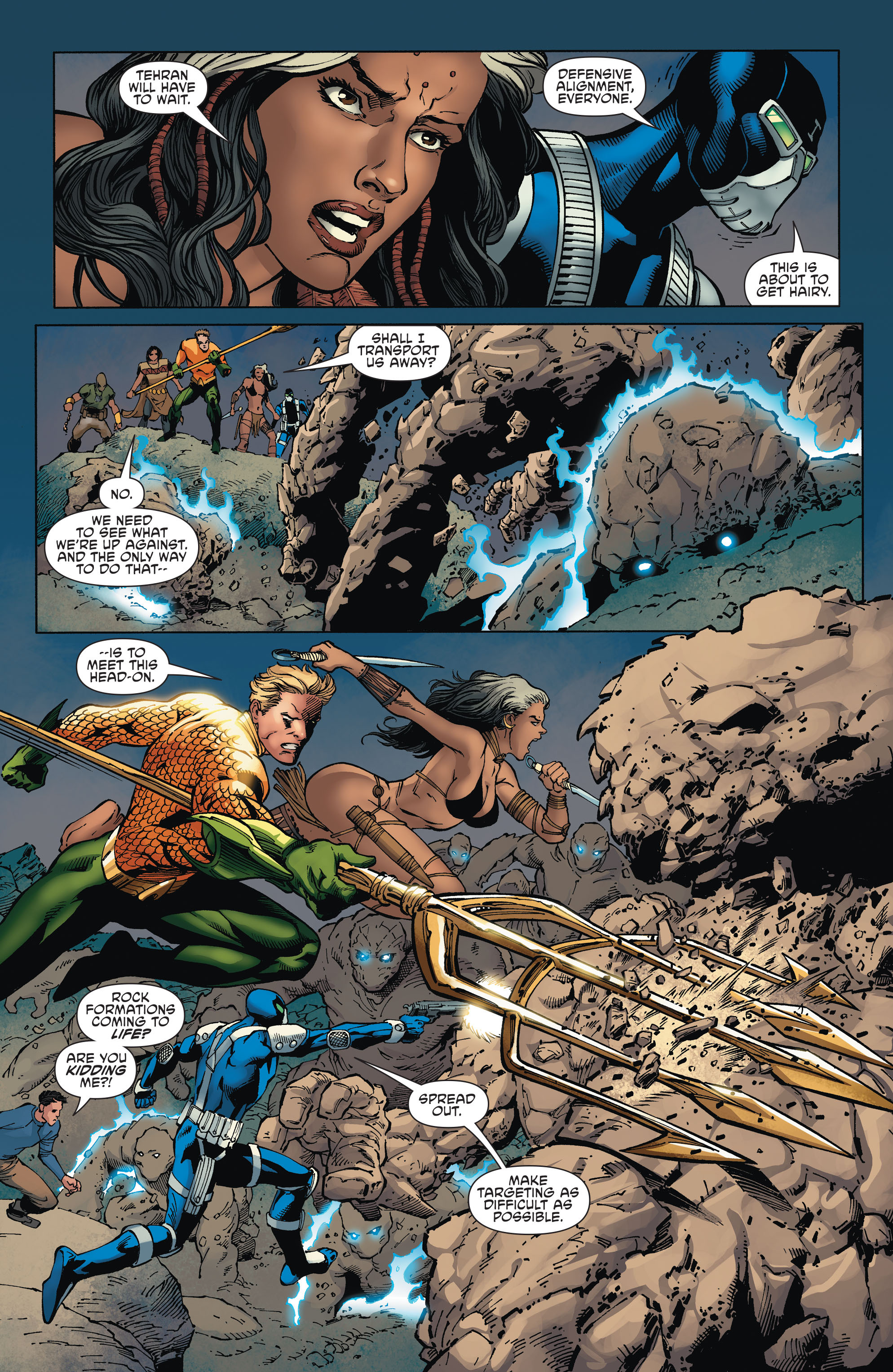Read online Aquaman and the Others comic -  Issue #2 - 19
