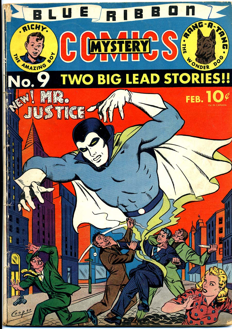 Blue Ribbon Comics (1939) issue 9 - Page 1